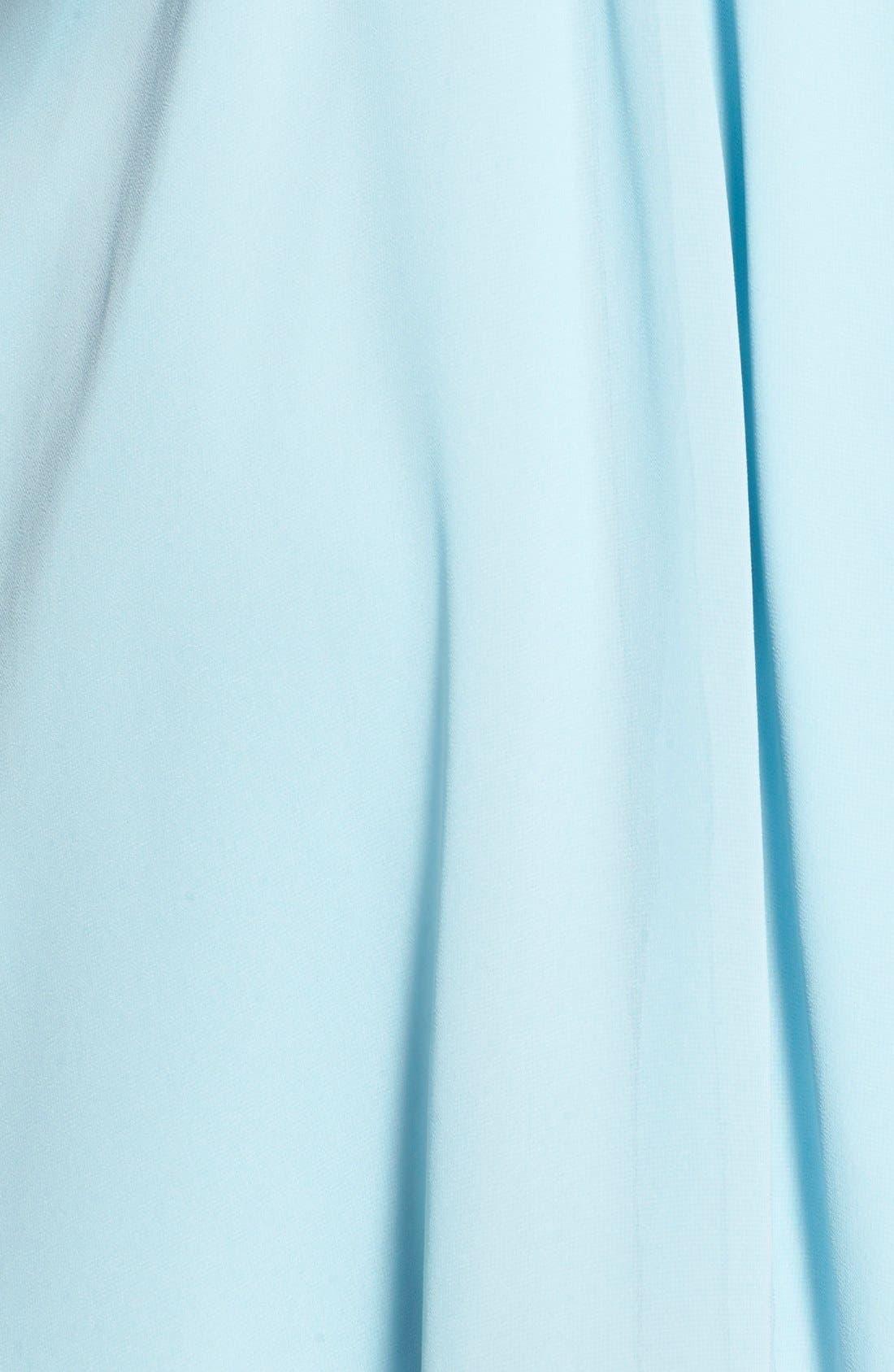 Blouson Chiffon Skater Dress,                             Alternate thumbnail 218, color,