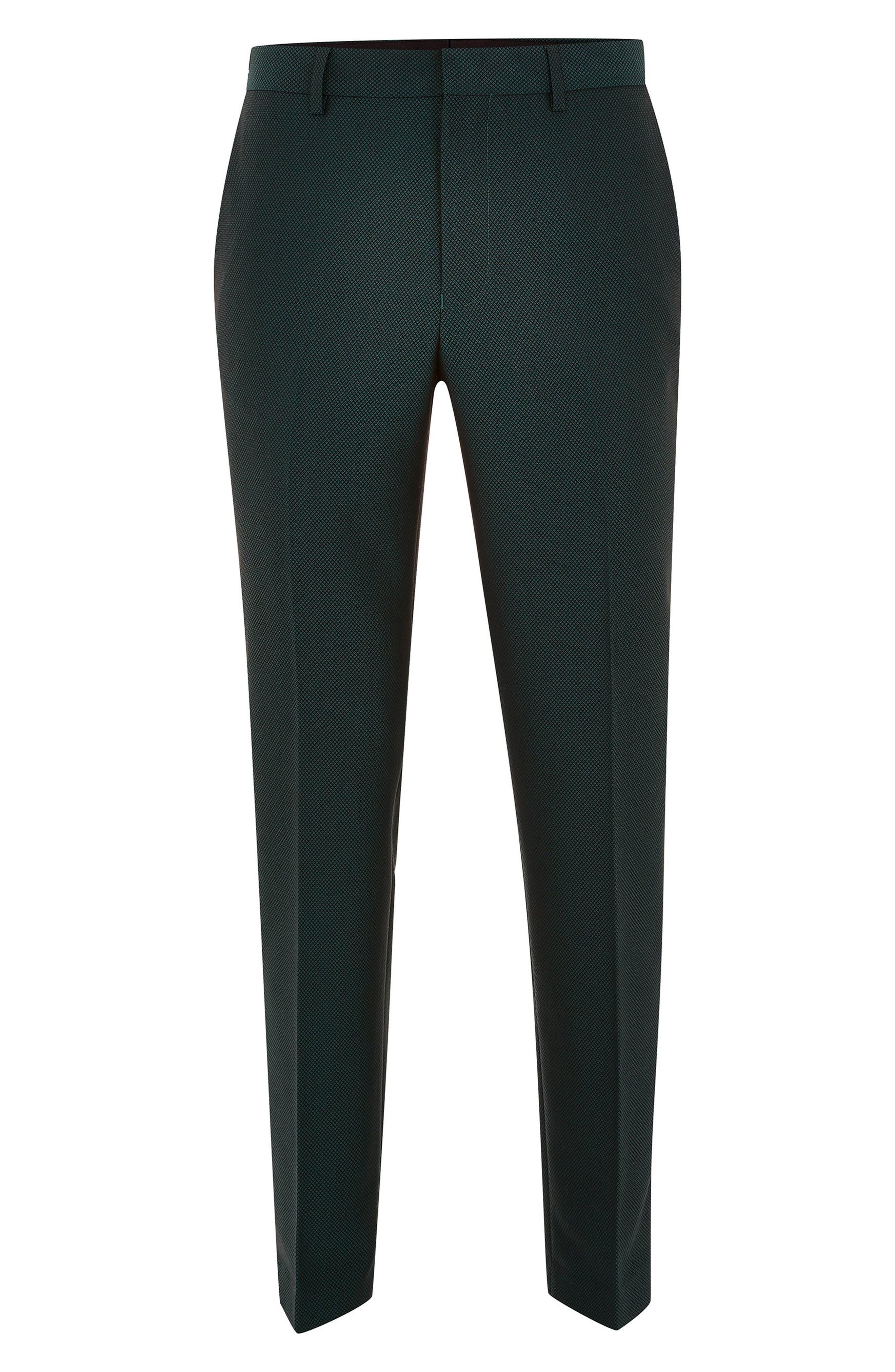 TOPMAN,                             Banbury Slim Fit Suit Trousers,                             Alternate thumbnail 4, color,                             300