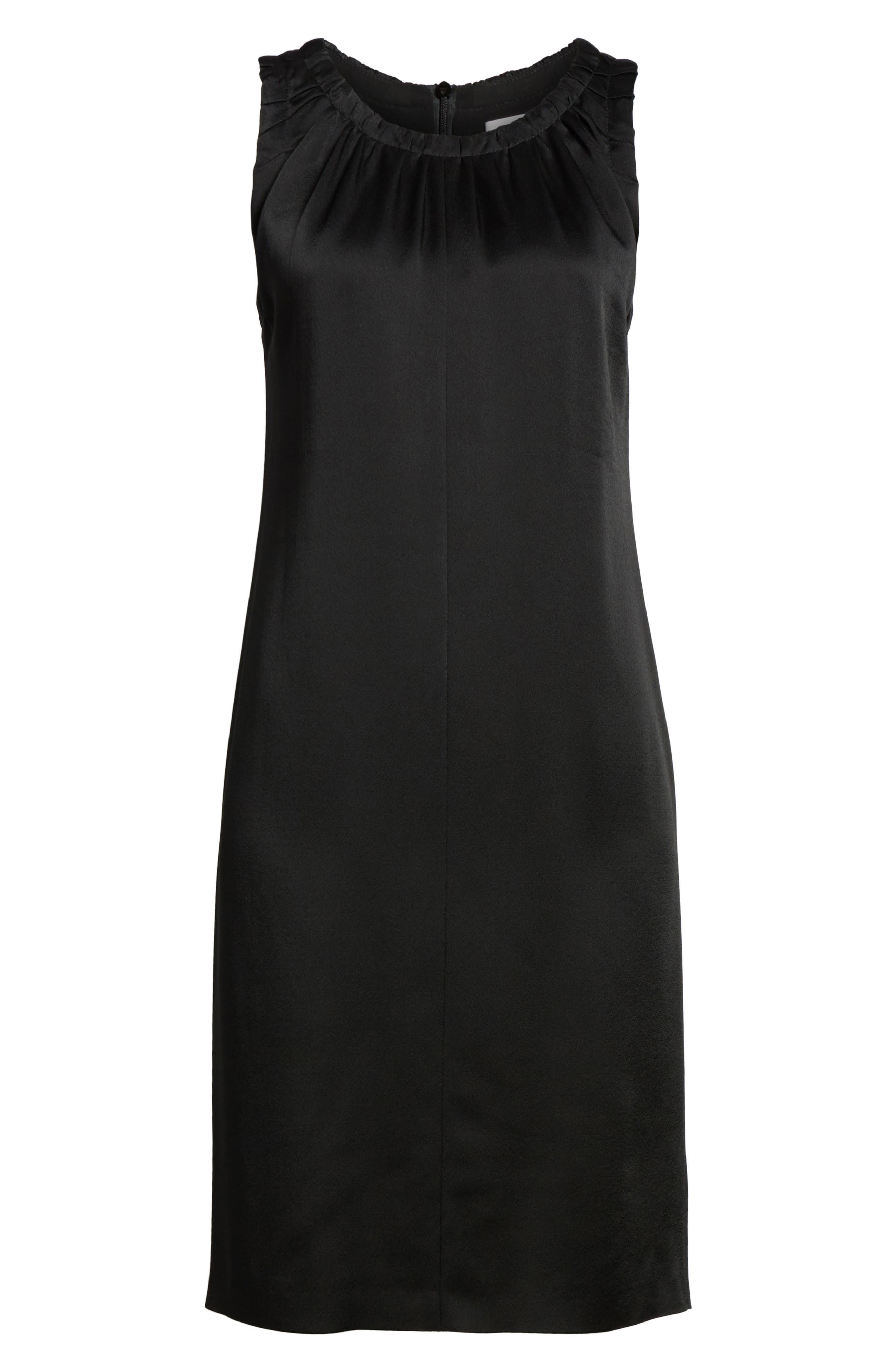 Daviana Sheath Dress,                             Alternate thumbnail 6, color,                             001