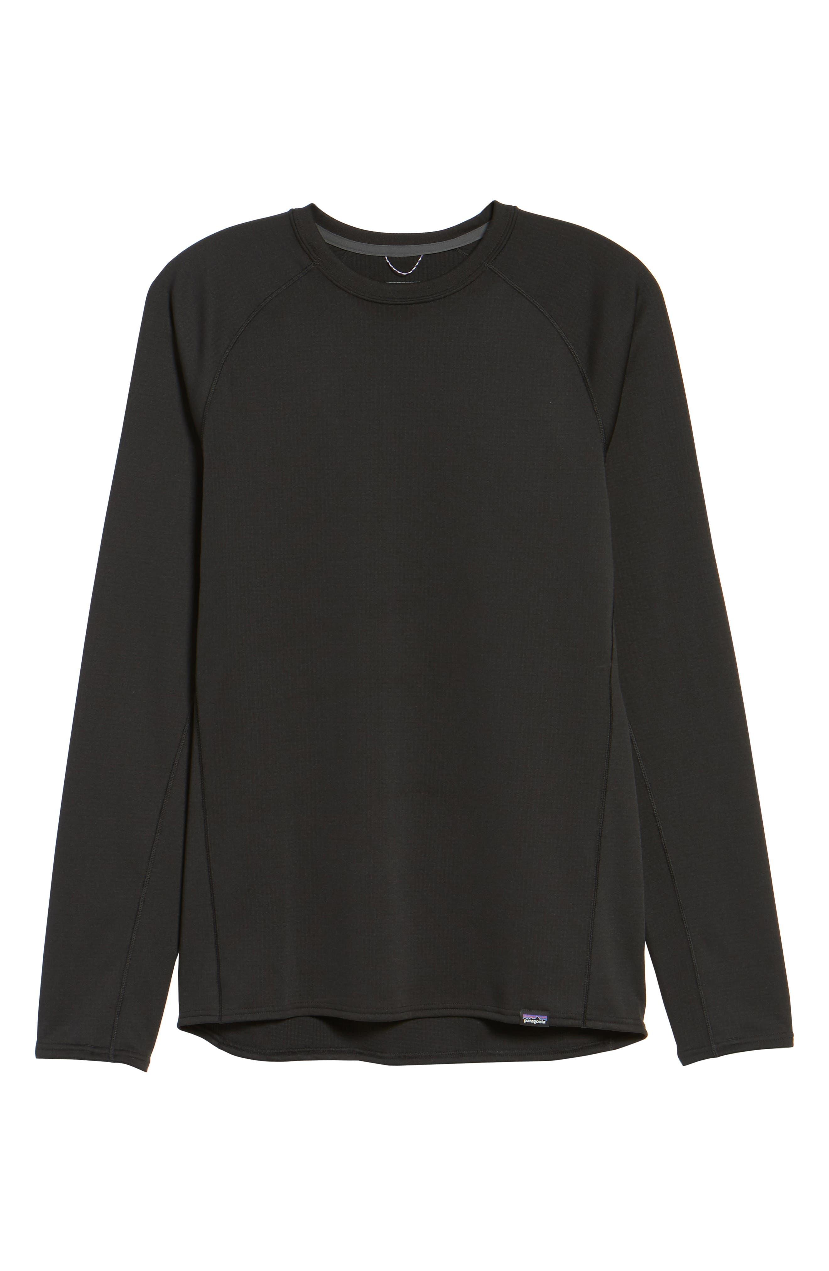 Capilene Midweight Base Layer T-Shirt,                             Alternate thumbnail 6, color,                             001