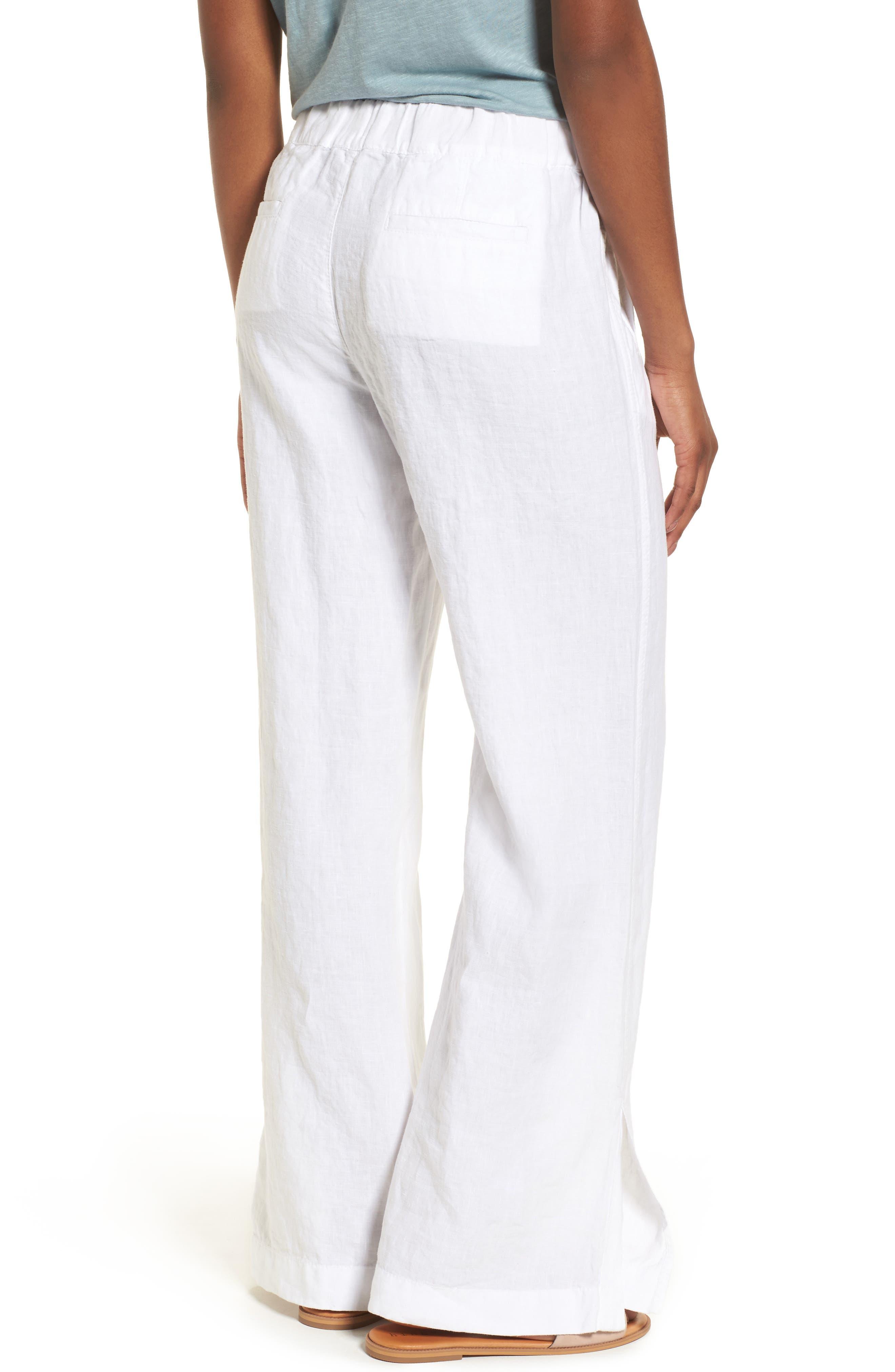 Linen Track Pants,                             Alternate thumbnail 7, color,
