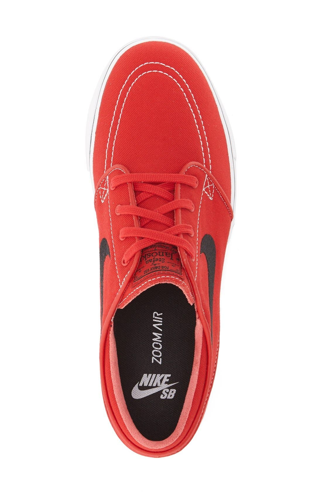 Zoom - Stefan Janoski SB Canvas Skate Shoe,                             Alternate thumbnail 80, color,