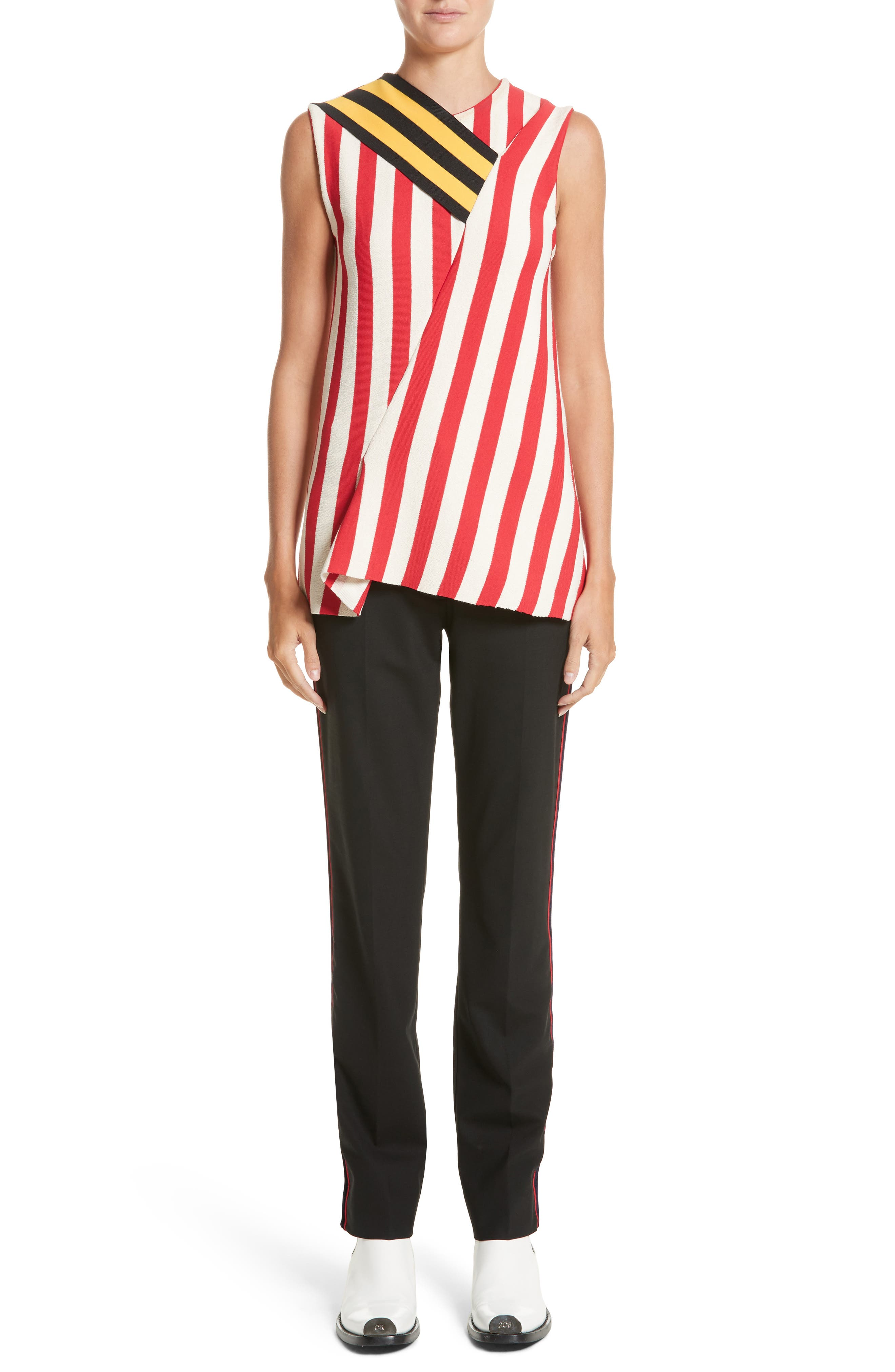Stripe Top,                             Alternate thumbnail 7, color,                             600