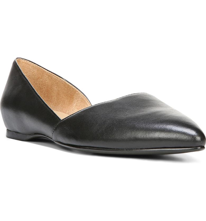 Check Prices Naturalizer Samantha Half dOrsay Flat (Women) Compare & Buy
