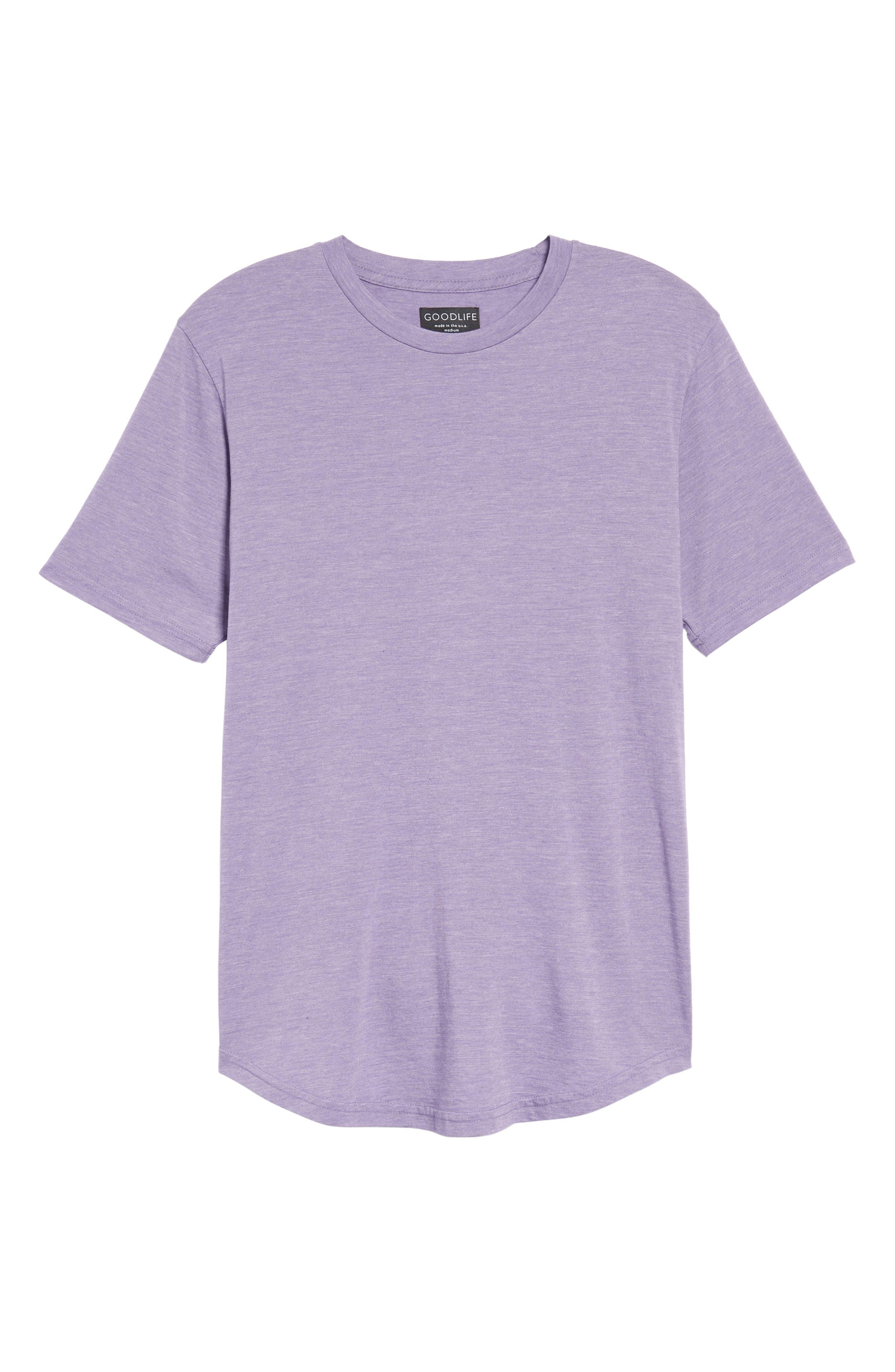 Scallop Triblend Crewneck T-Shirt,                             Alternate thumbnail 126, color,