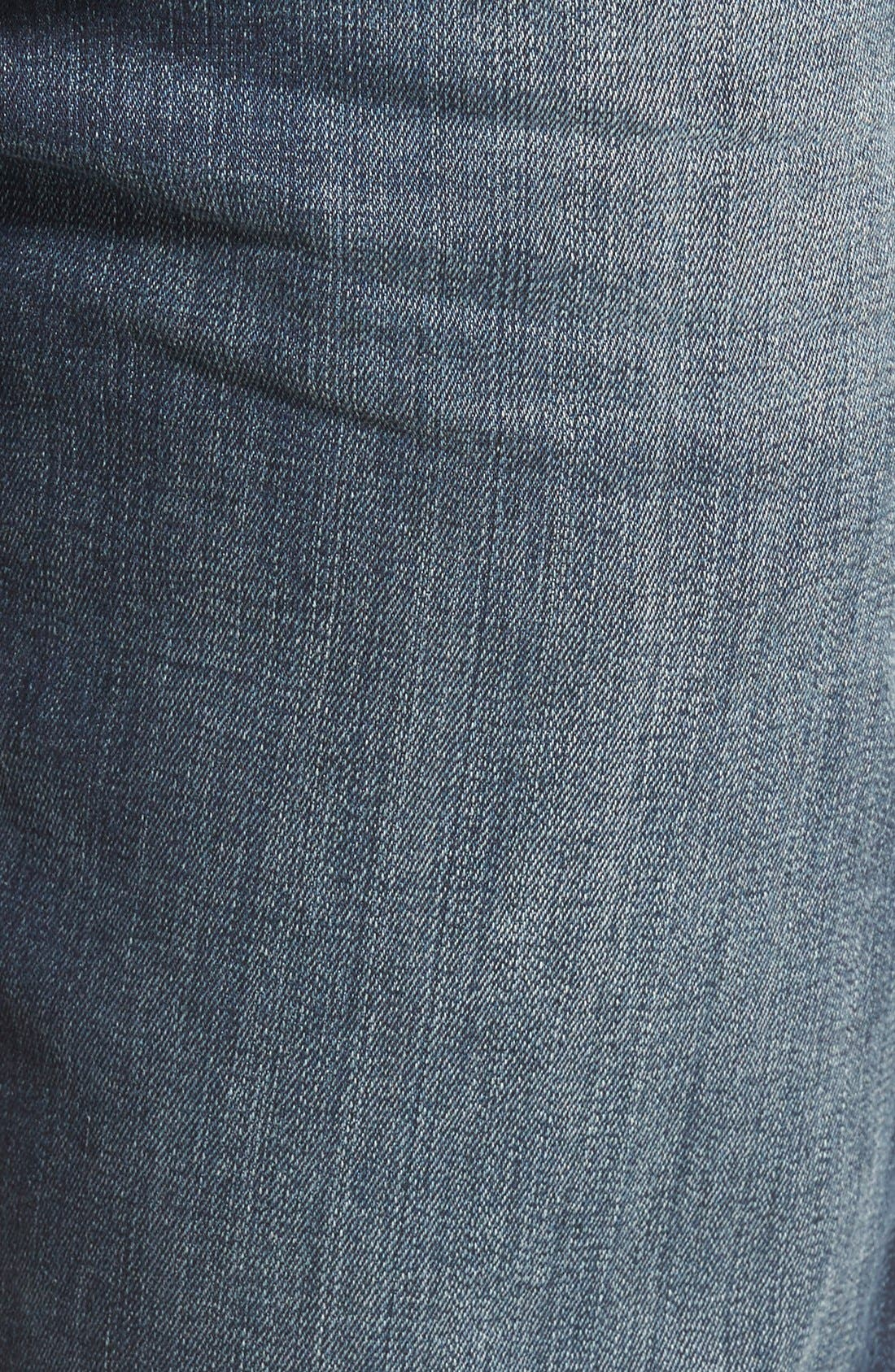 MAVI JEANS,                             Zach Straight Leg Jeans,                             Alternate thumbnail 8, color,                             DARK BRUSHED WILLIAMSBURG