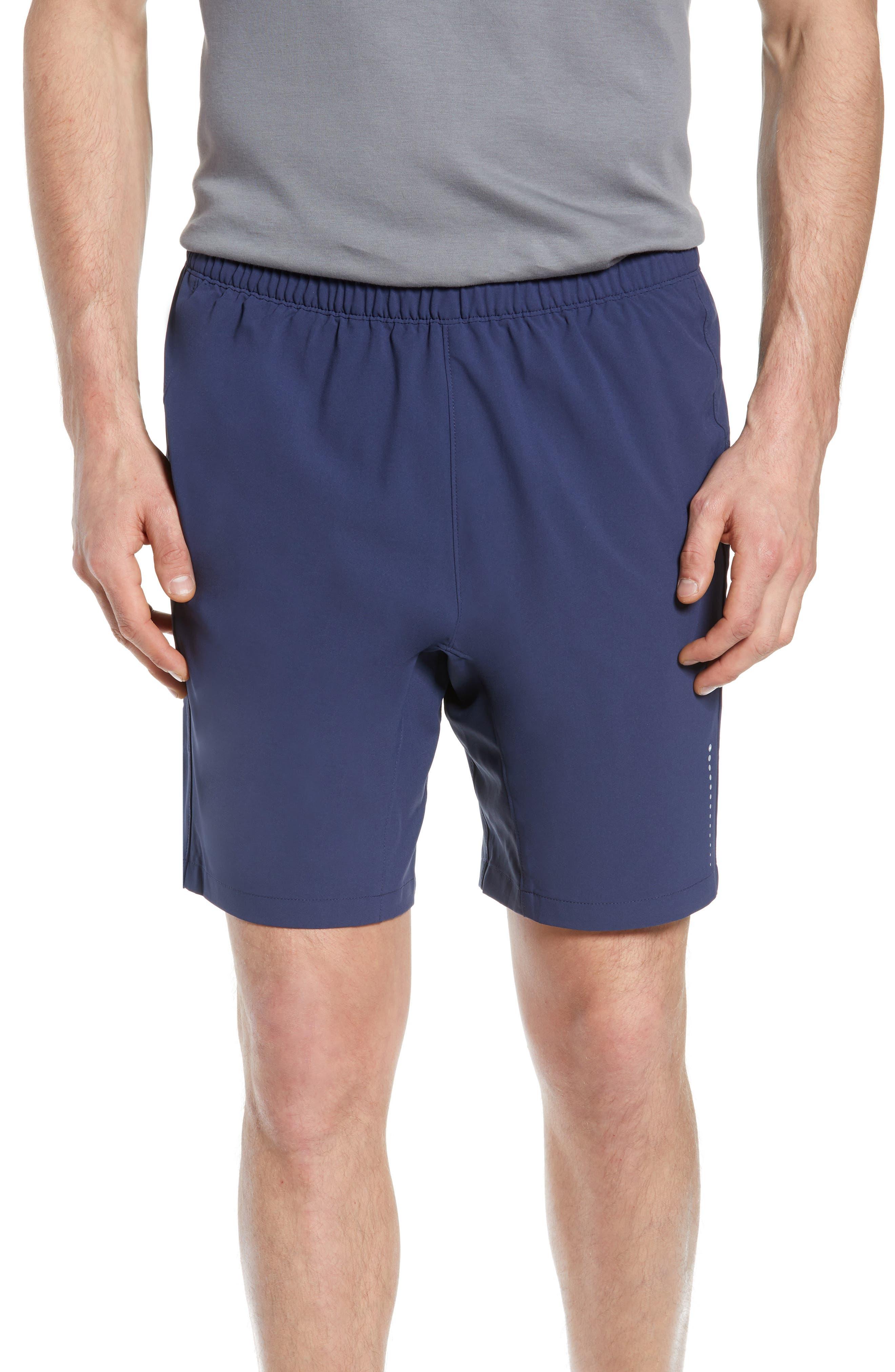Peter Millar Montreal Action Training Shorts, Blue