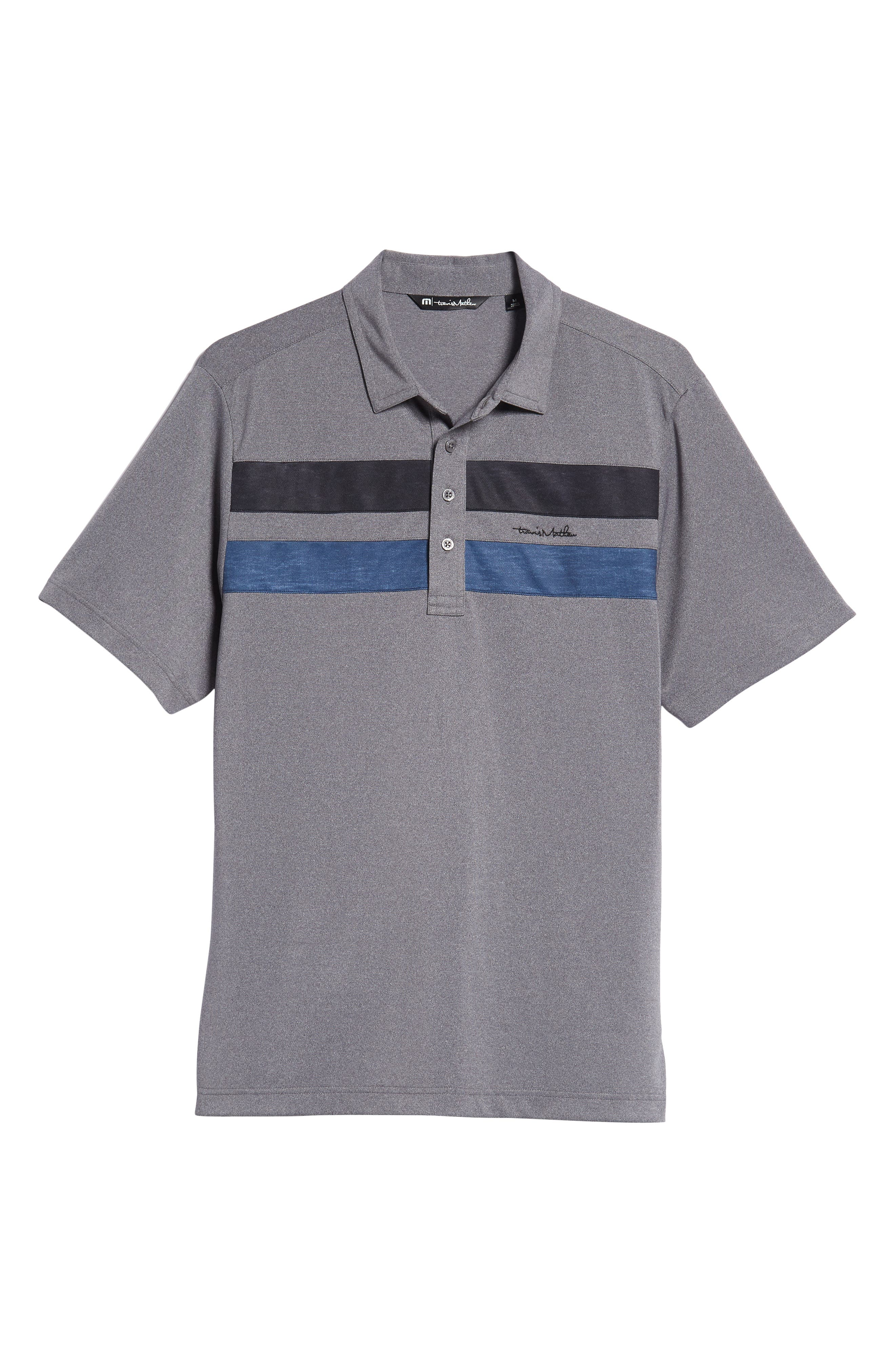 Big Six Regular Fit Polo,                             Alternate thumbnail 6, color,                             HEATHER GREY