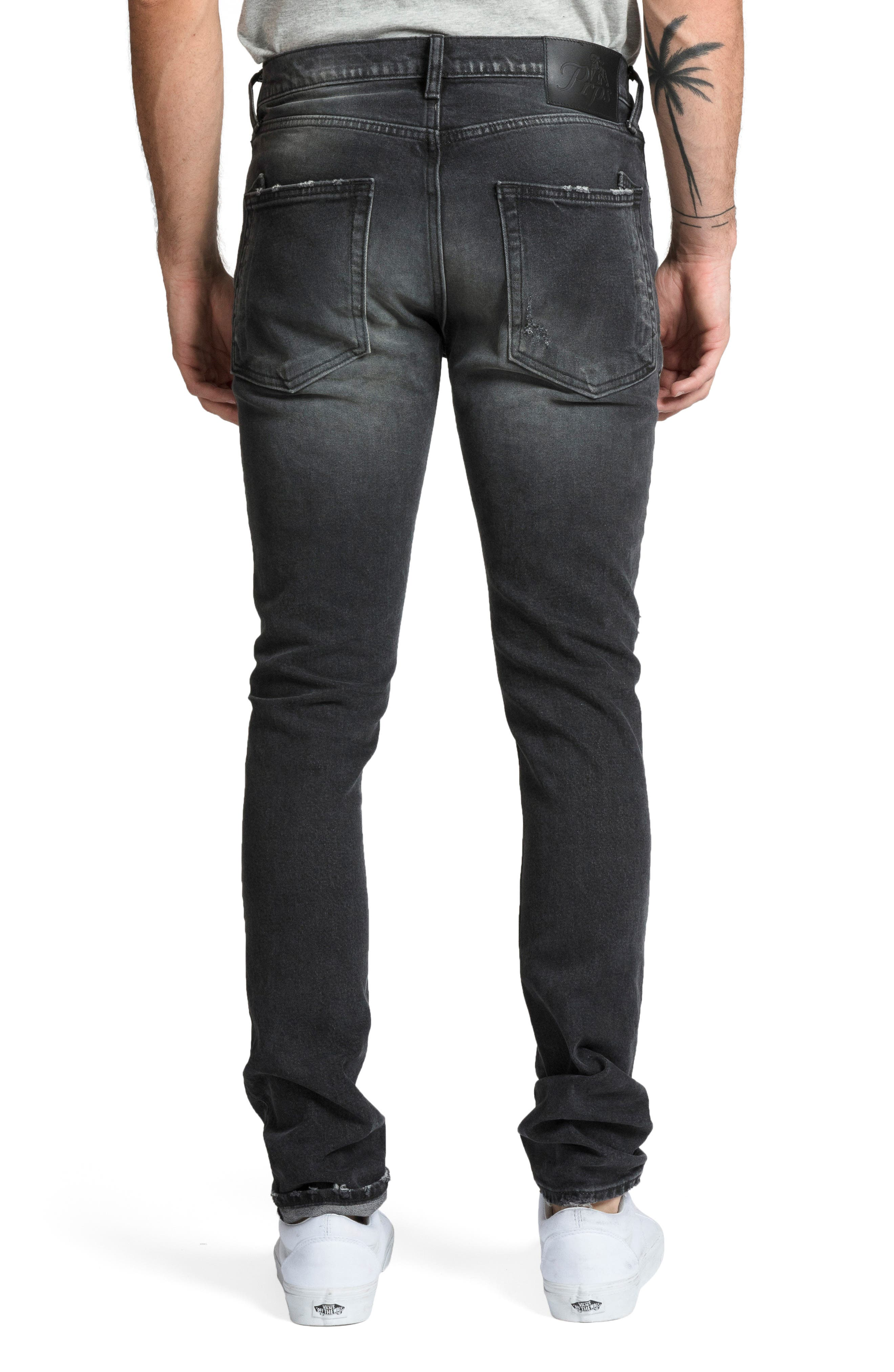 Windsor Skinny Fit Jeans,                             Alternate thumbnail 2, color,                             RESOLUTE