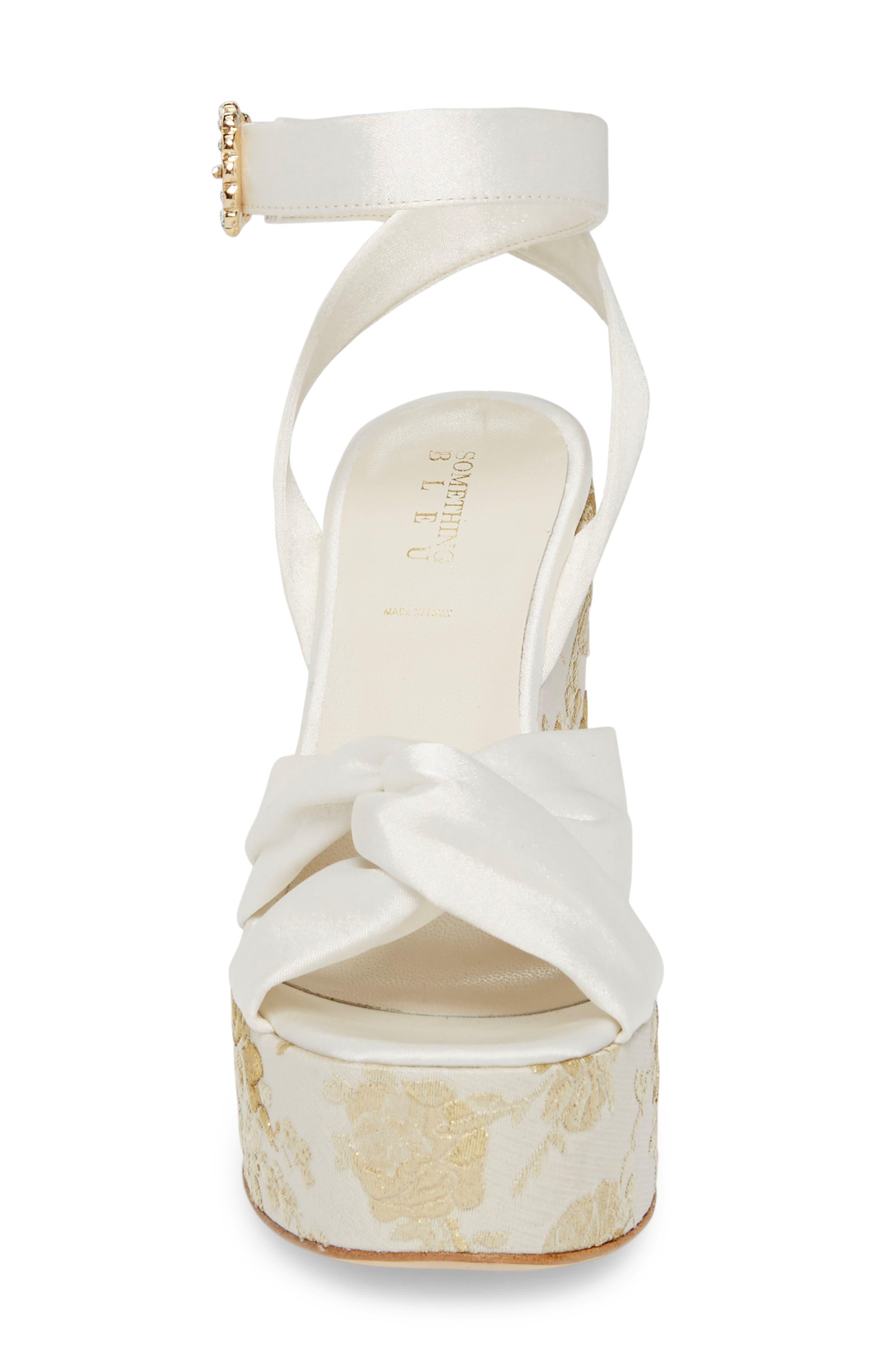 Serena Brocade Platform Sandal,                             Alternate thumbnail 16, color,