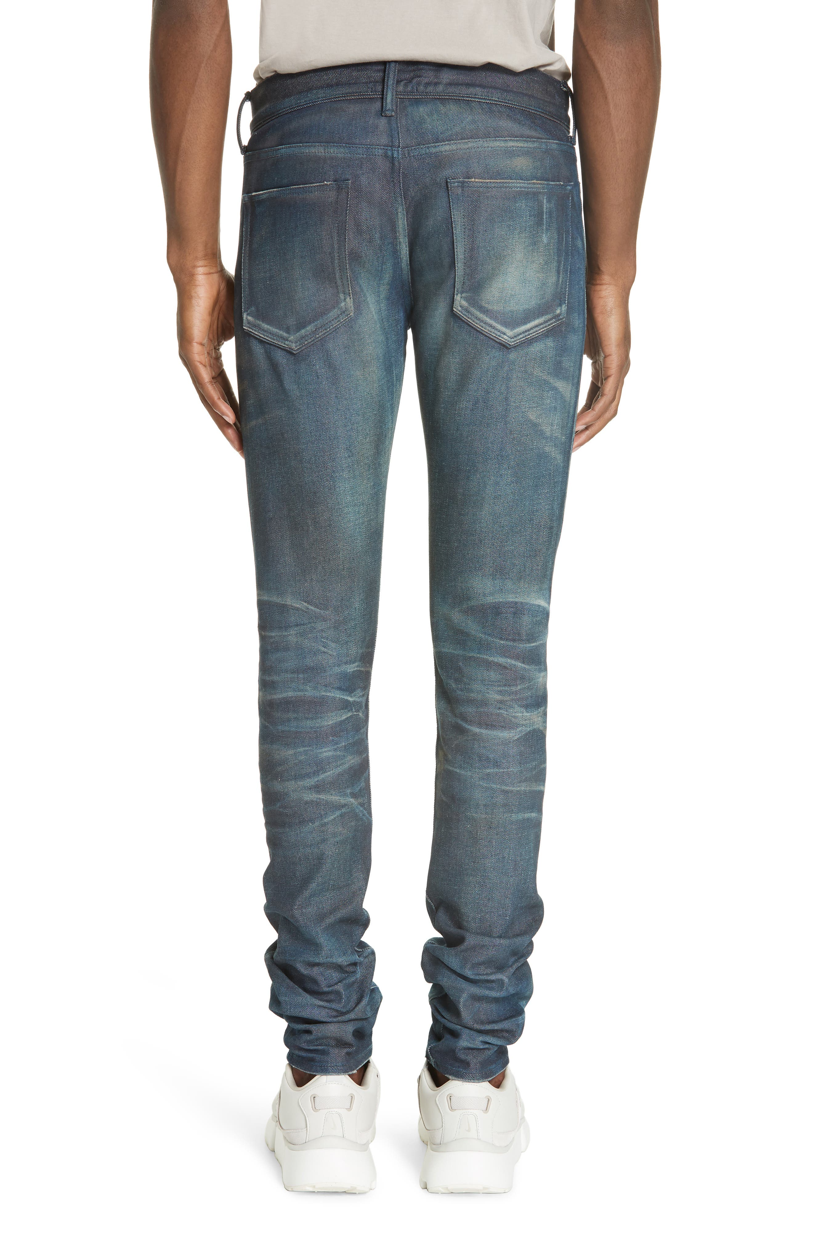The Cast 2 Skinny Fit Jeans,                             Alternate thumbnail 2, color,                             BLUE