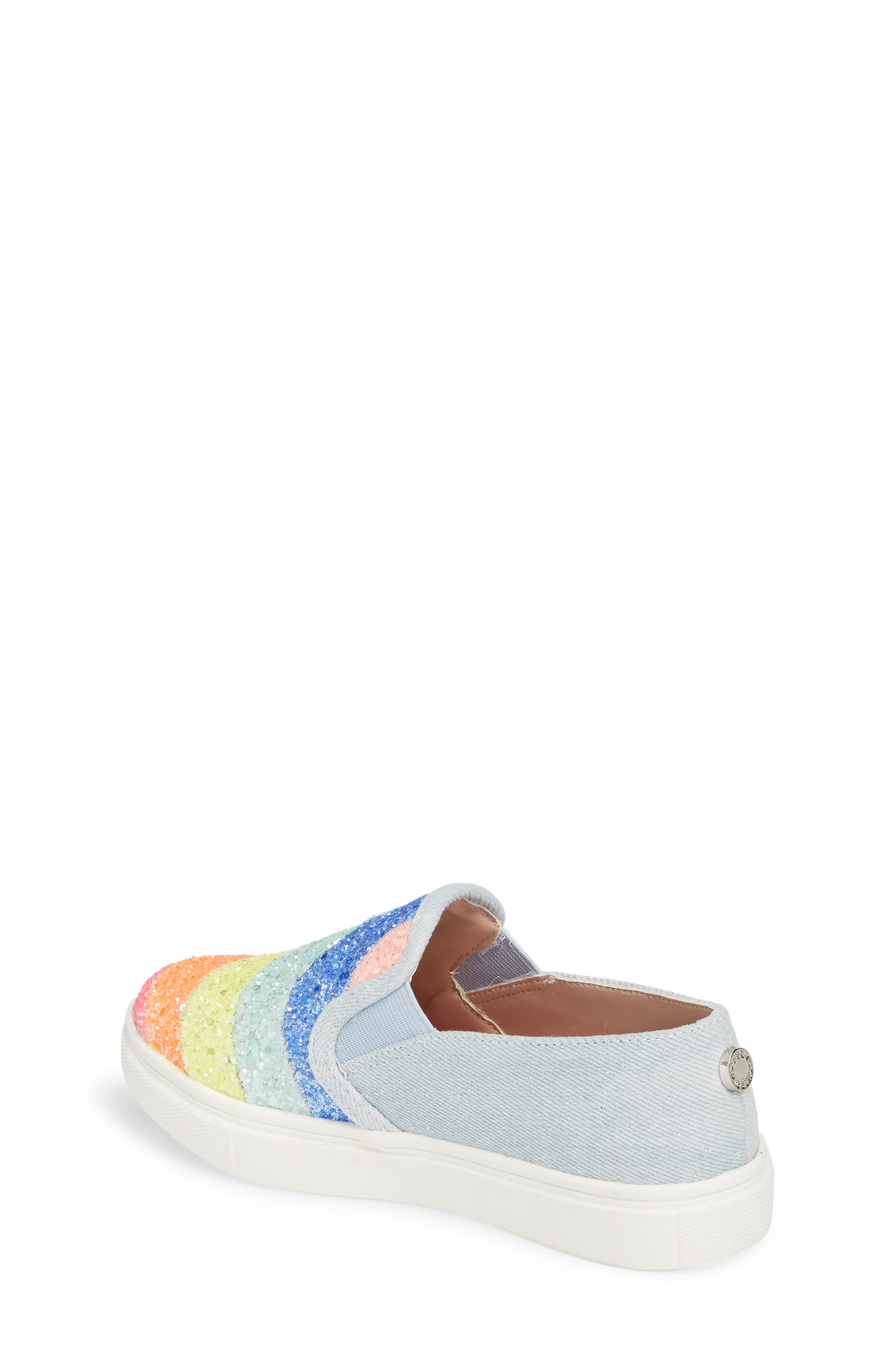 JWISH Rainbow Slip-On Sneaker,                             Alternate thumbnail 2, color,                             650