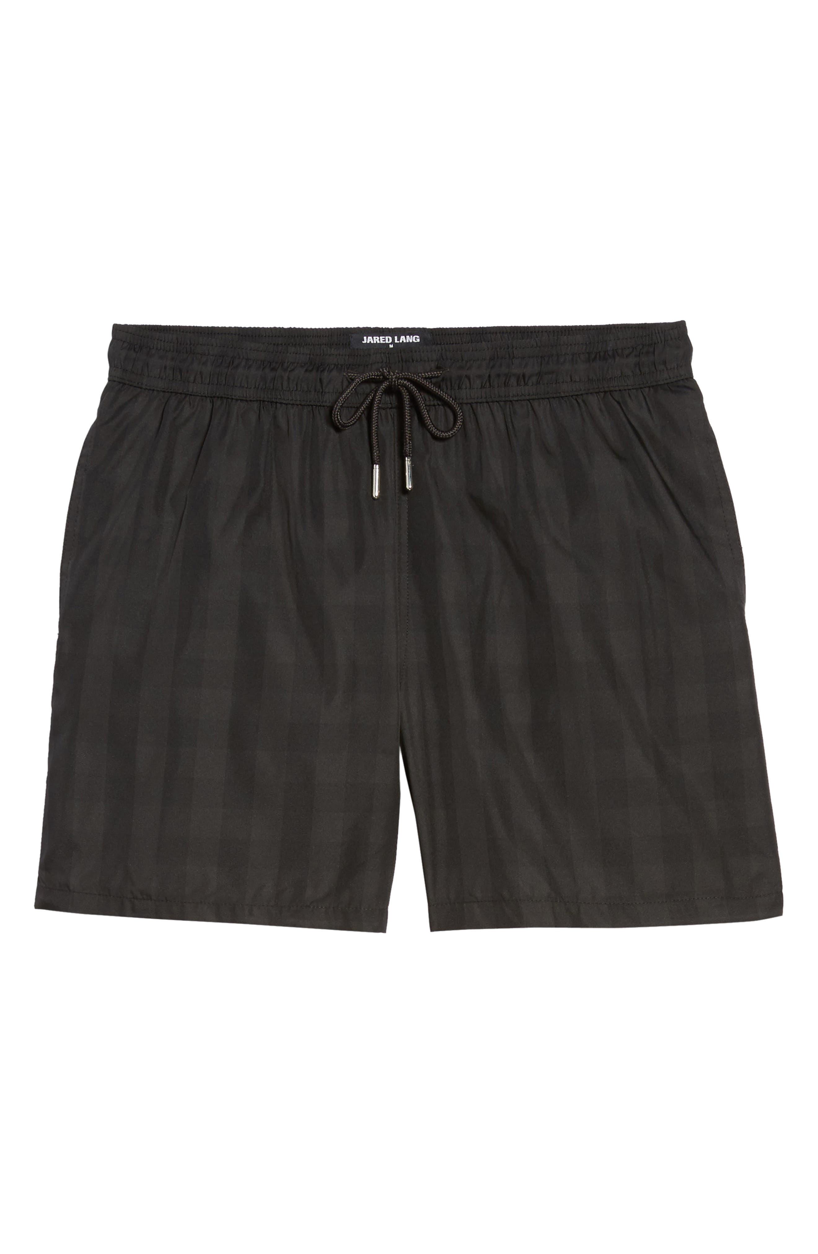 Trim Fit Swim Shorts,                             Alternate thumbnail 6, color,