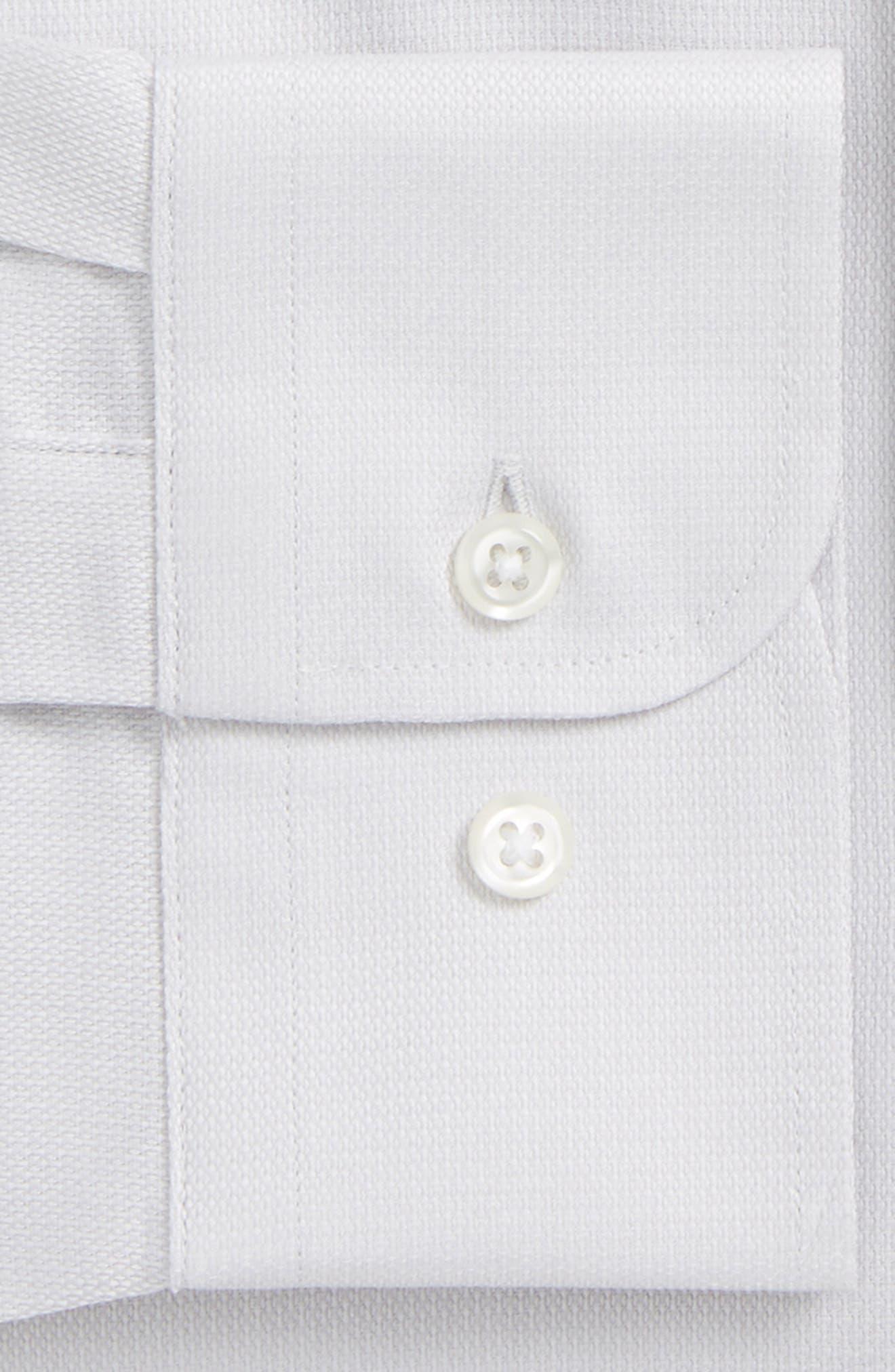 Trim Fit Solid Dress Shirt,                             Alternate thumbnail 24, color,
