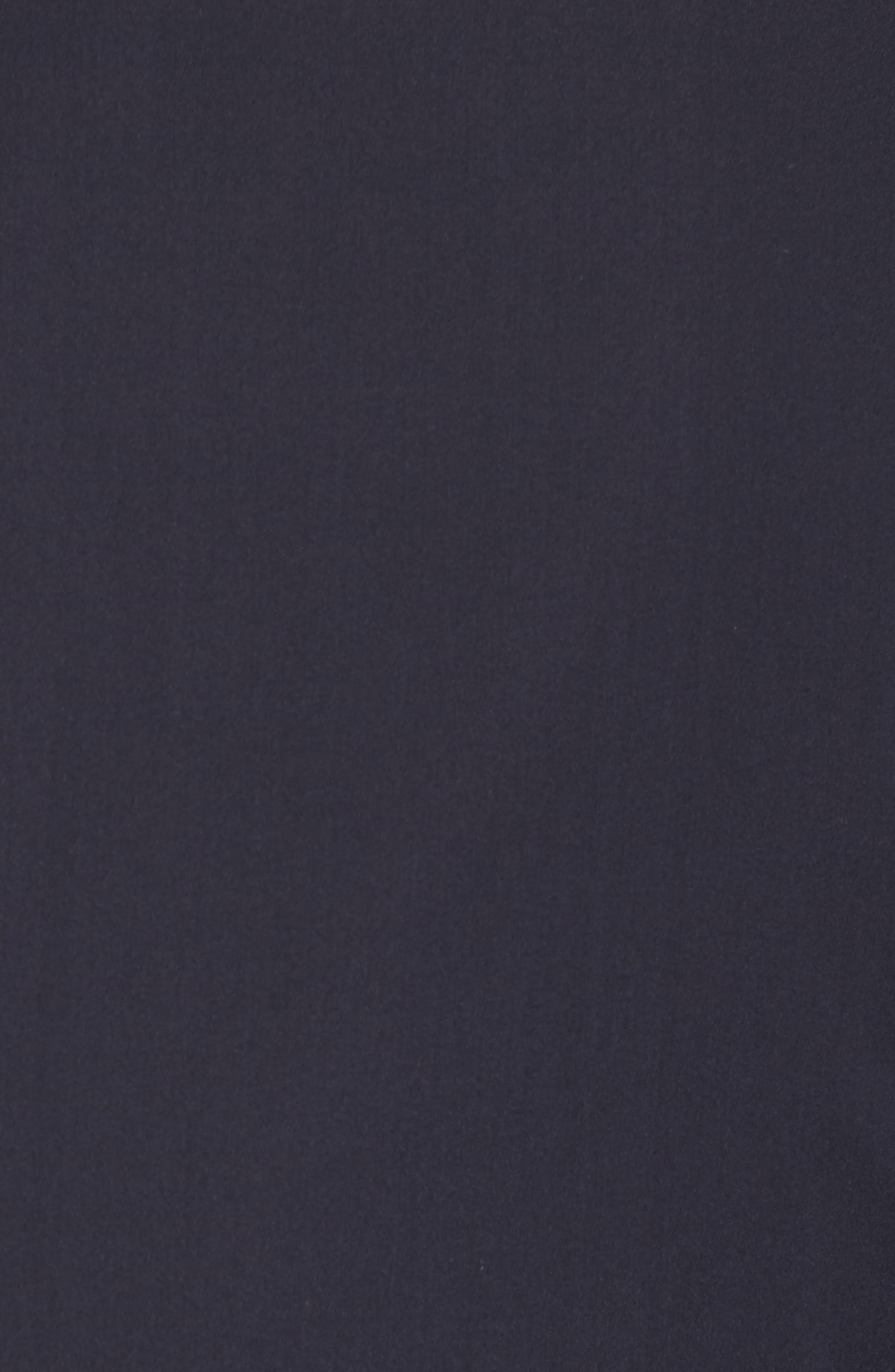 Trim Fit Water-Resistant Silk Topcoat,                             Alternate thumbnail 6, color,                             410
