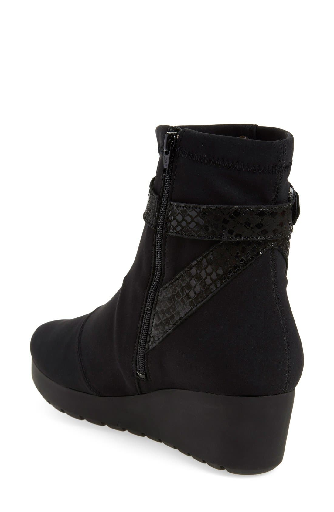 'Tyba' Waterproof Wedge Bootie,                             Alternate thumbnail 2, color,