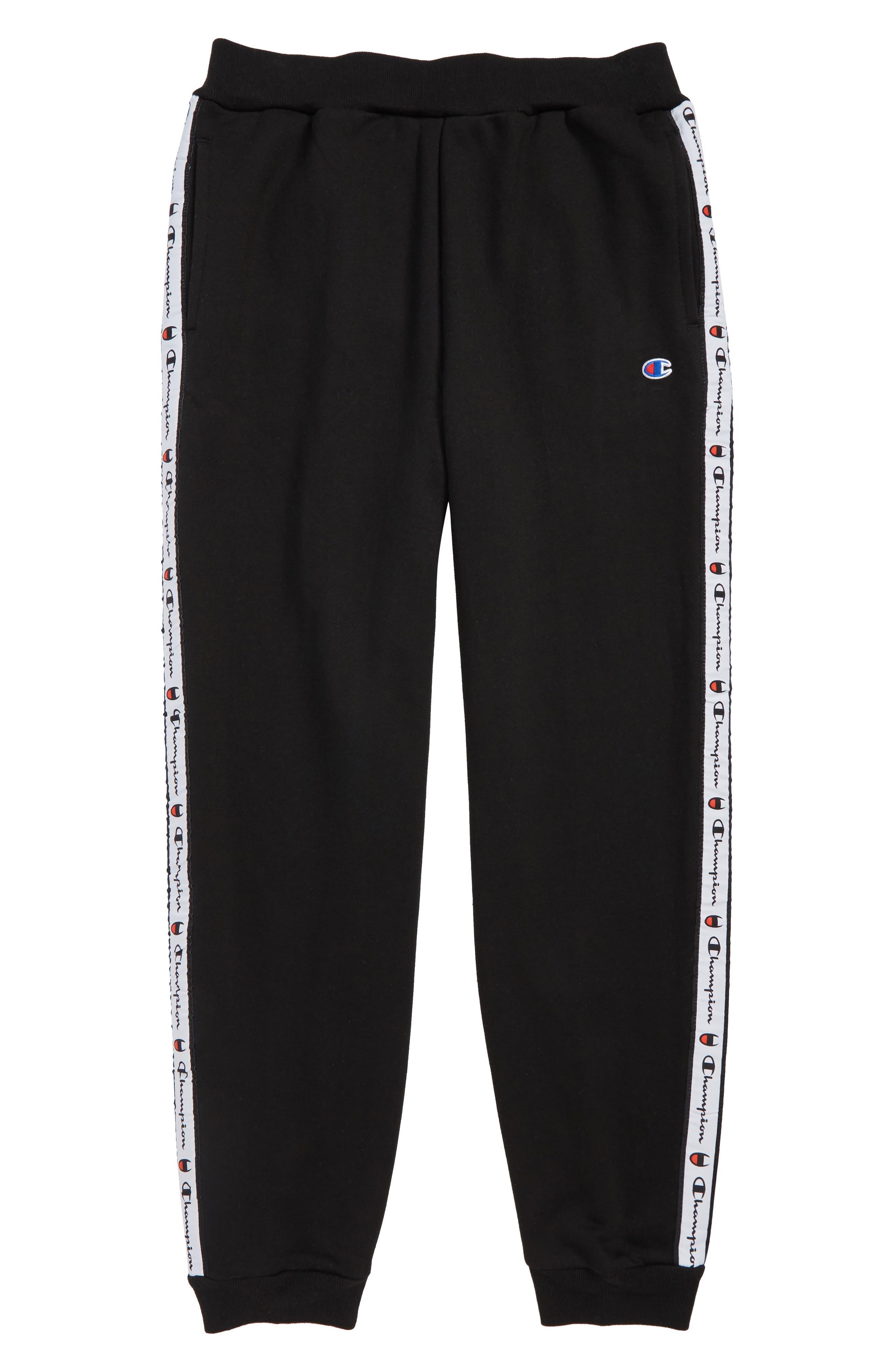 Heritage Logo Jogger Pants,                         Main,                         color, BLACK