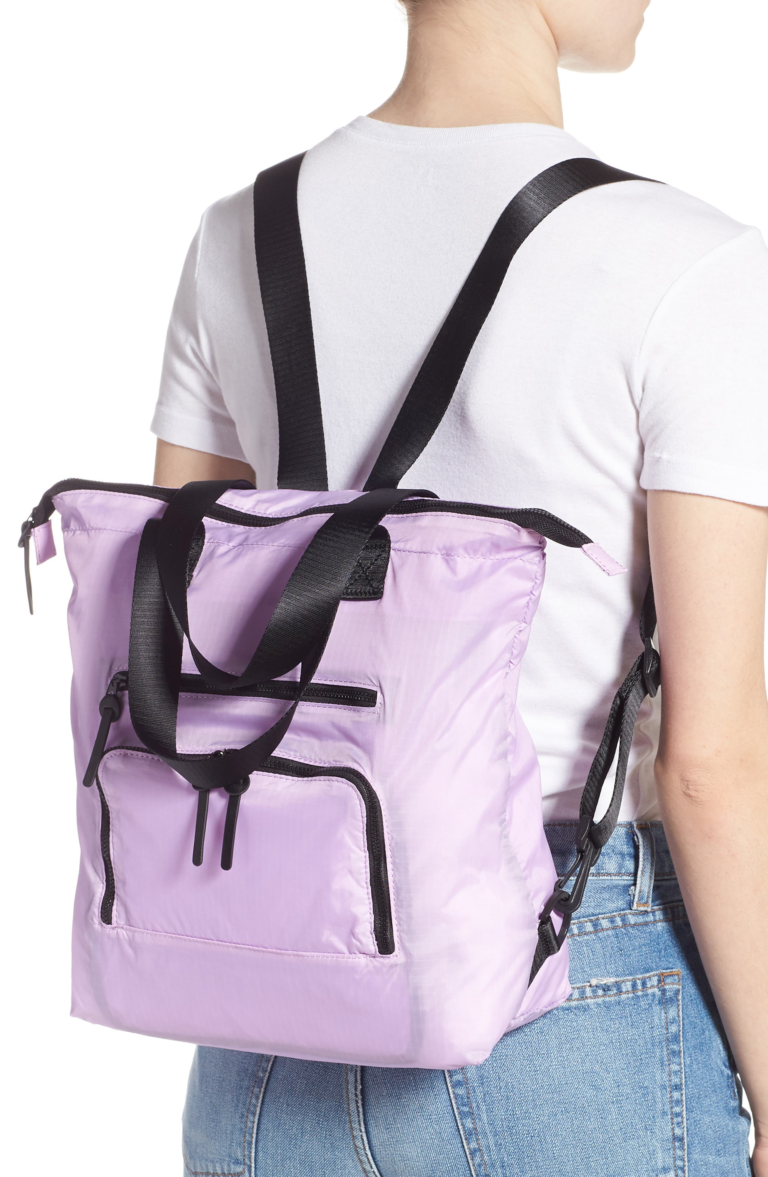 Packable Convertible Backpack,                             Alternate thumbnail 2, color,                             LAVENDER SWEET
