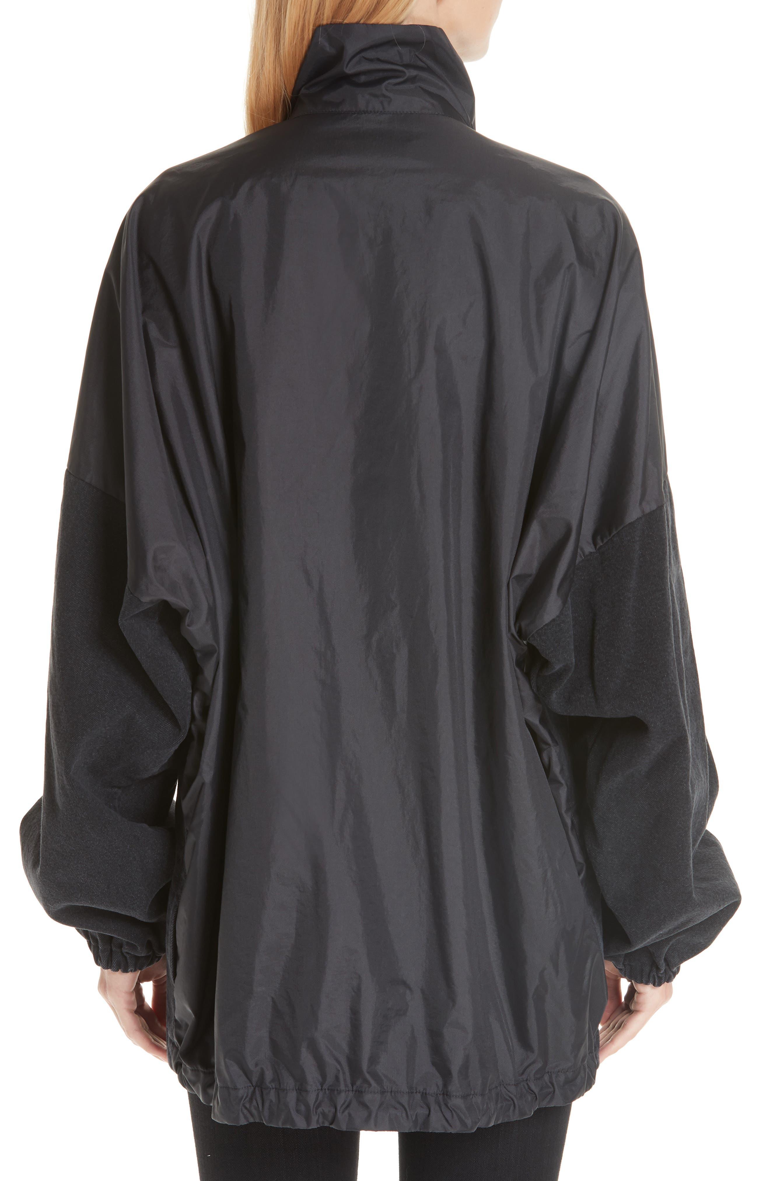 Denim Panel Jacket,                             Alternate thumbnail 2, color,                             001