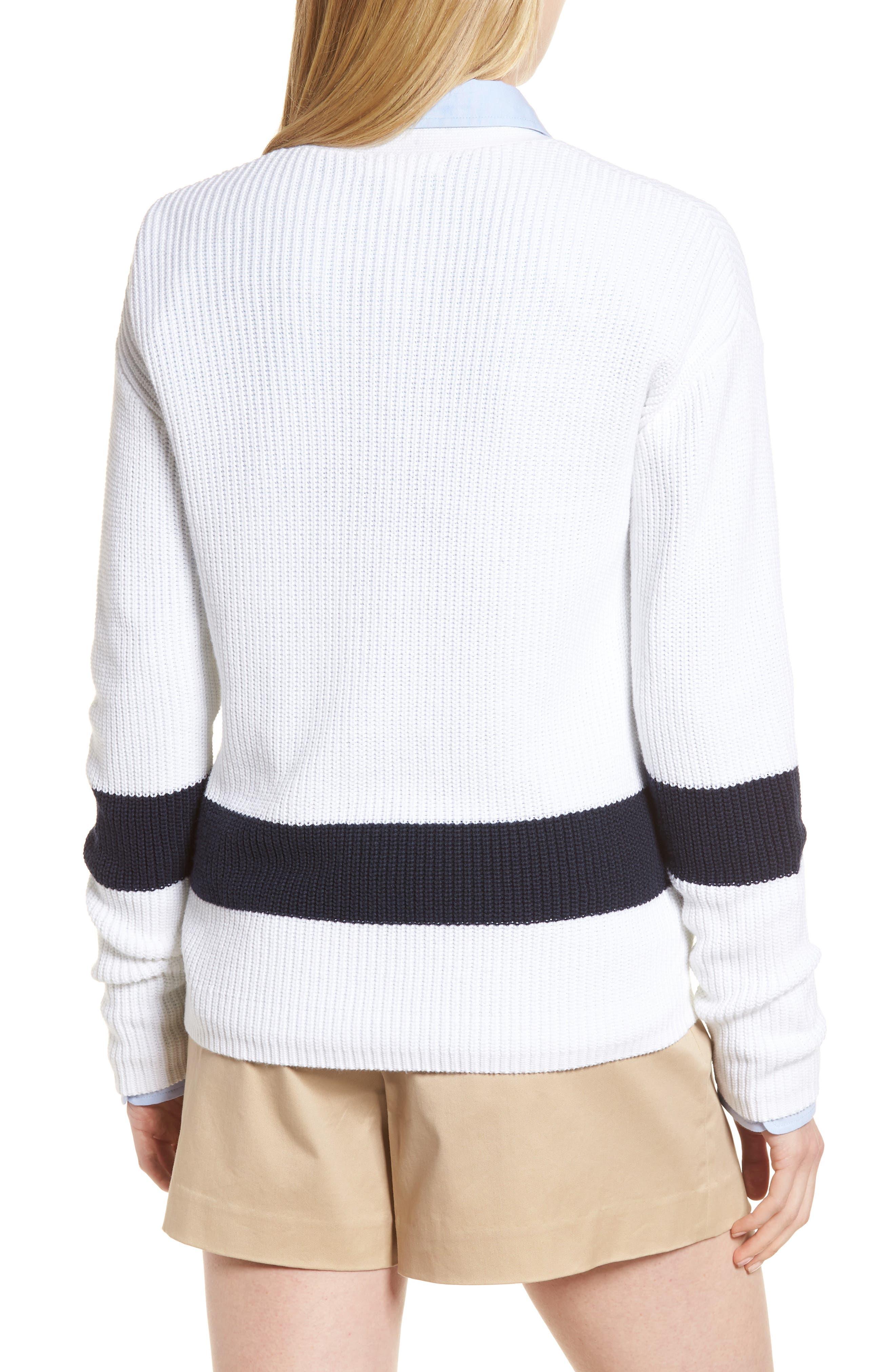 Shaker Knit Cardigan,                             Alternate thumbnail 2, color,                             100