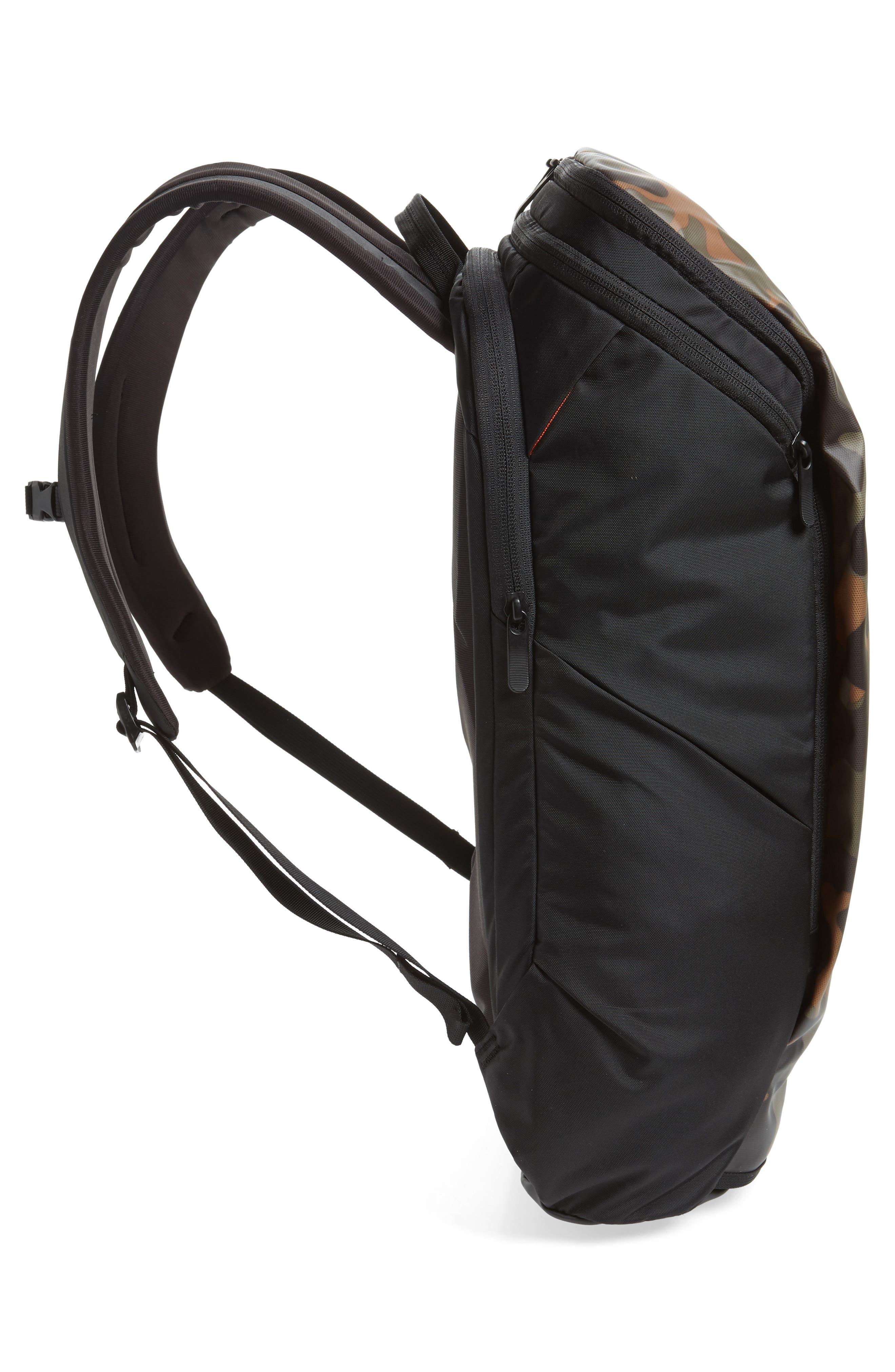 Ka-Ban Backpack,                             Alternate thumbnail 5, color,                             TAUPE GREEN/ MACROFLECK PRINT