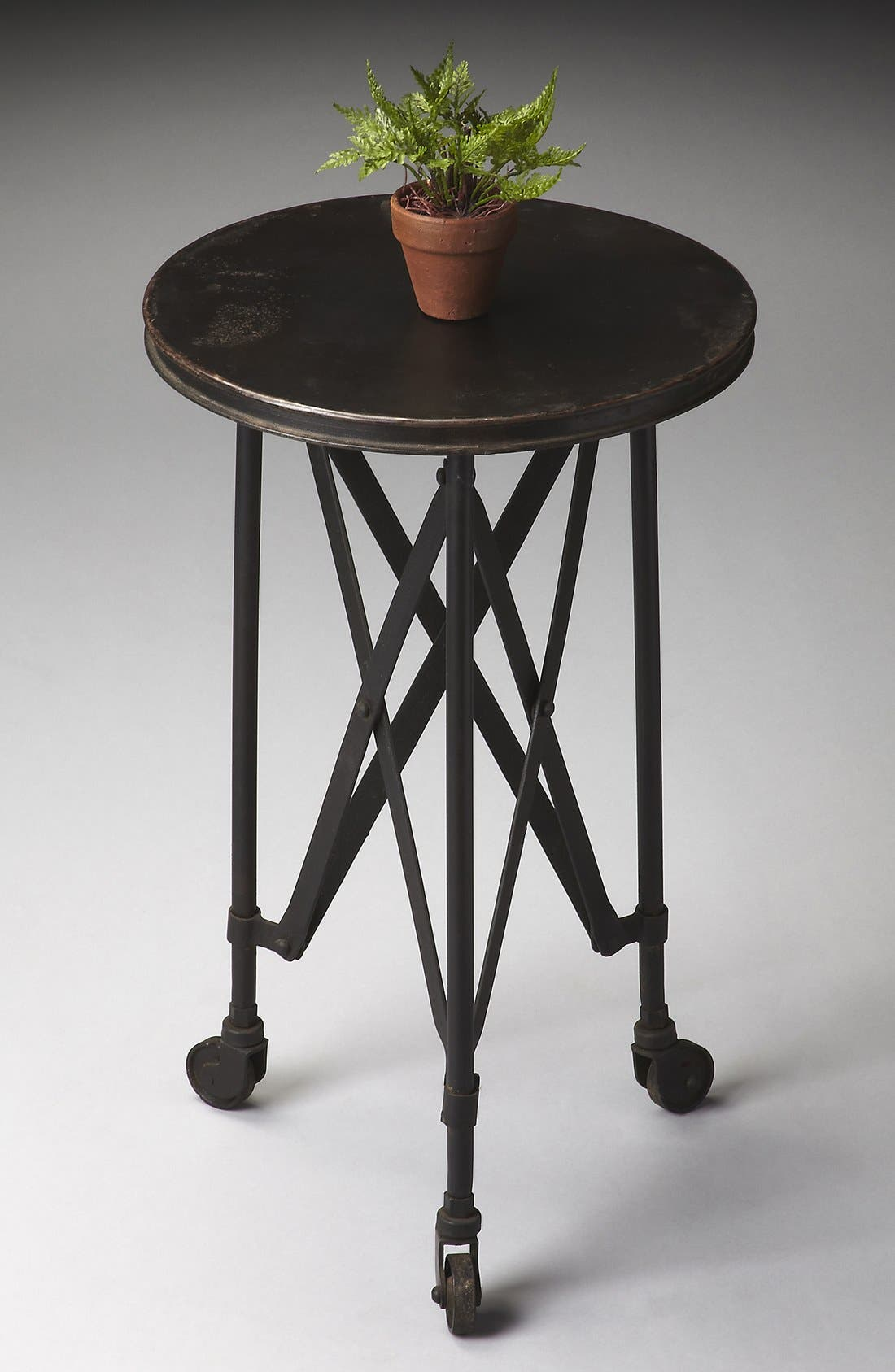 Iron Accent Table,                             Alternate thumbnail 2, color,                             001