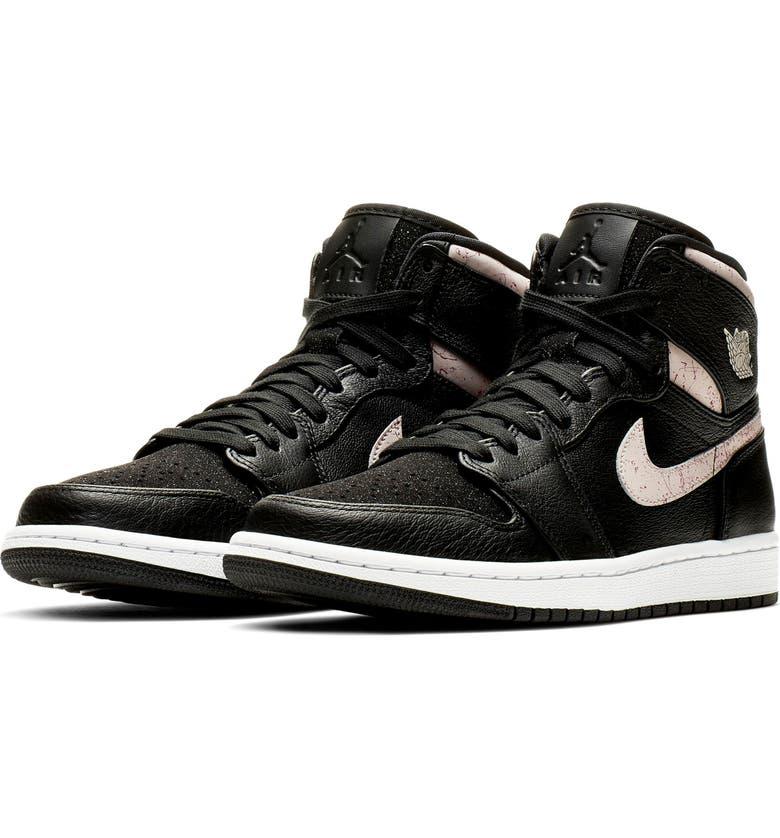 Nike Jordan Air Jordan 1 Retro Premium High Top Sneaker (Women ... 6dc2e134d