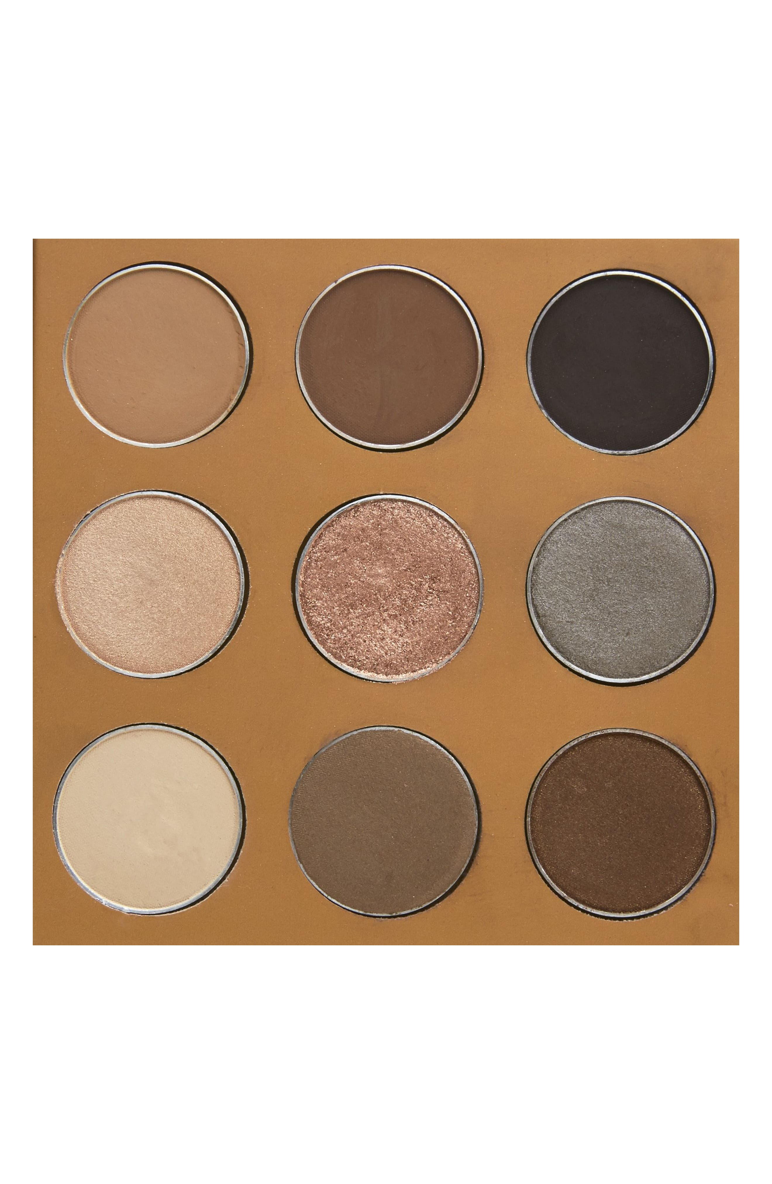 Coffee Eyeshadow Palette,                             Alternate thumbnail 3, color,                             NO COLOR