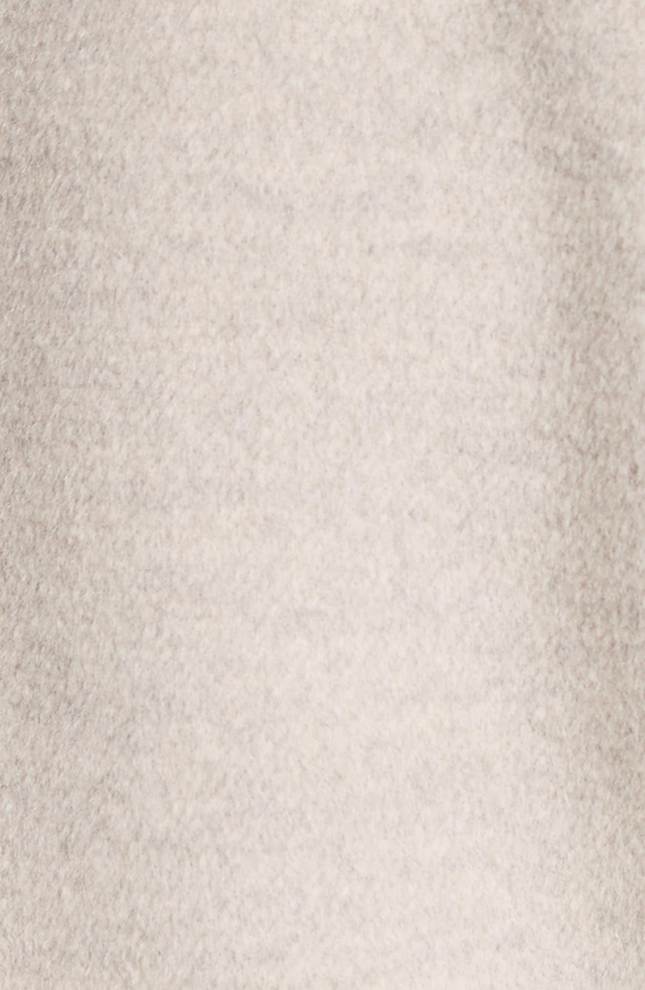 Double Face Wool, Angora & Cashmere Blend Blazer,                             Alternate thumbnail 6, color,                             205