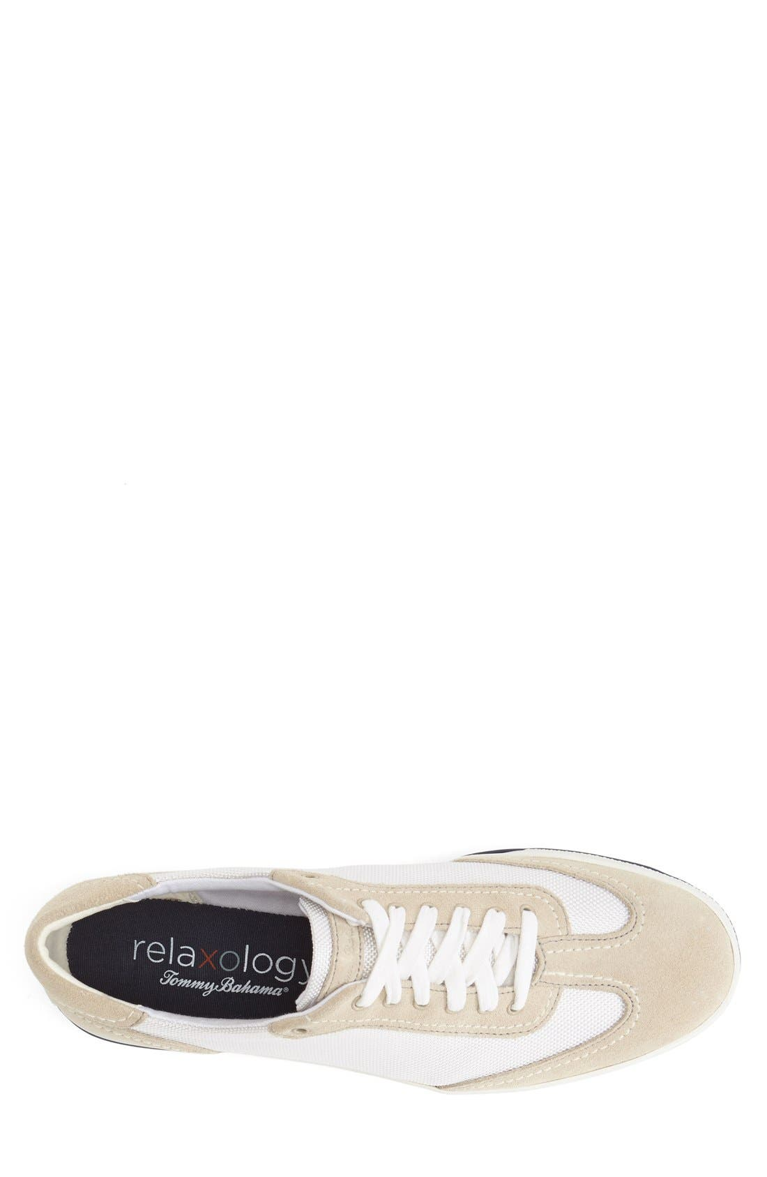 TOMMY BAHAMA,                             'Relaxology Collection - Roaderick' Sneaker,                             Alternate thumbnail 3, color,                             100