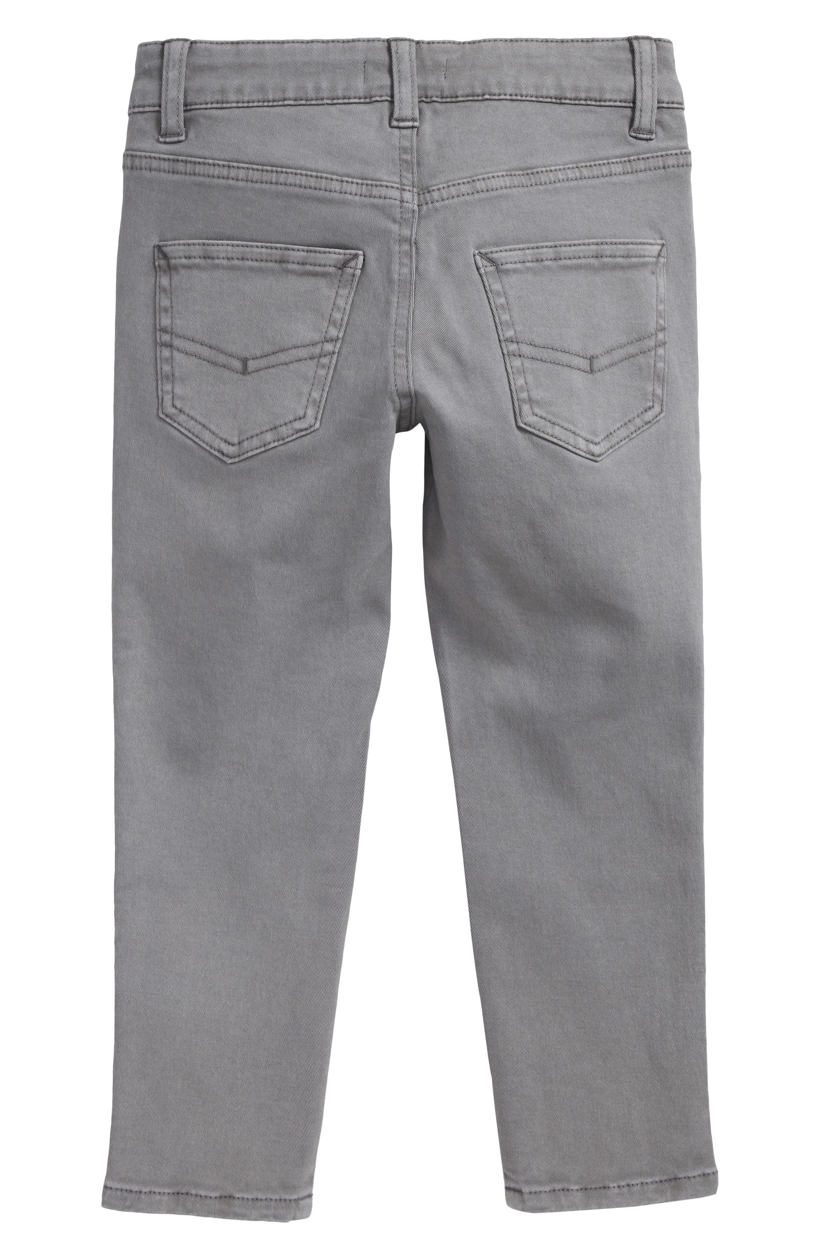 Stretch Chino Pants,                             Alternate thumbnail 2, color,                             GREY FROST