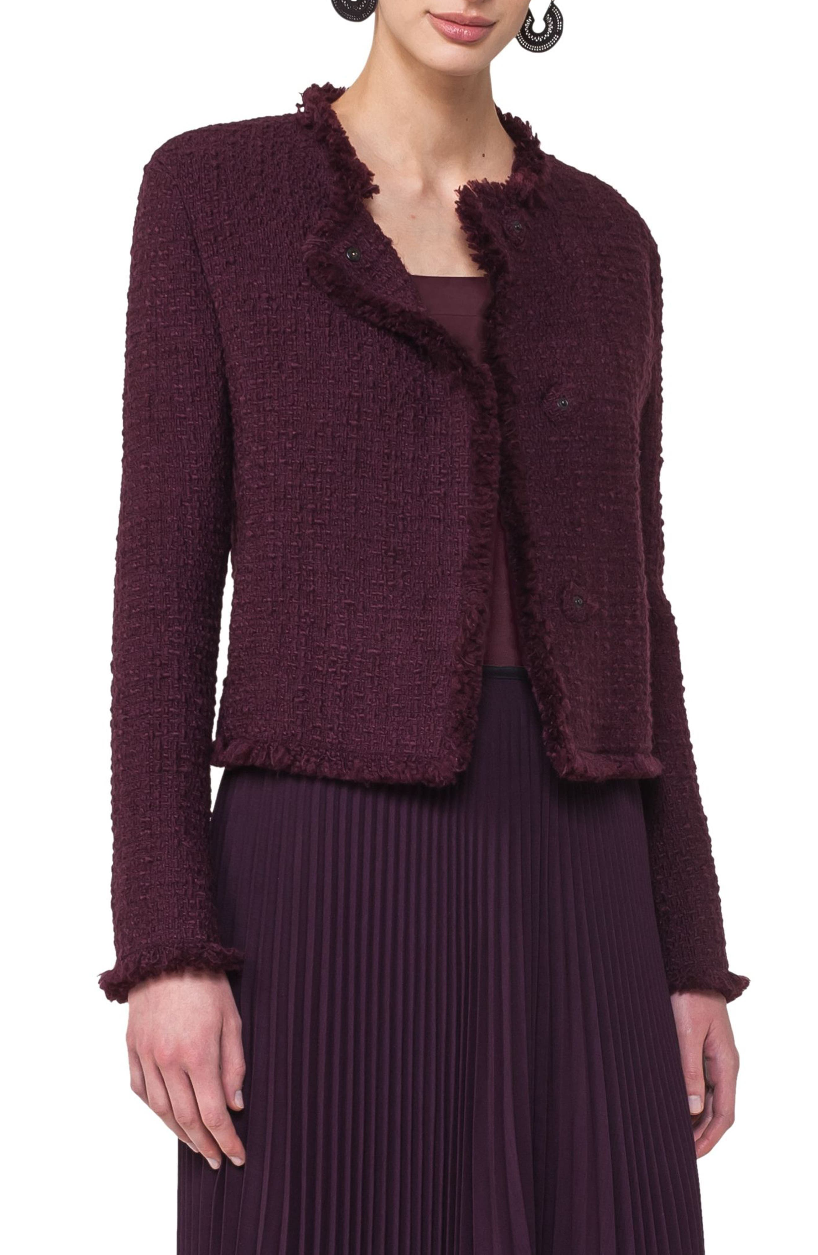 Tweed Jacket,                             Alternate thumbnail 4, color,                             930