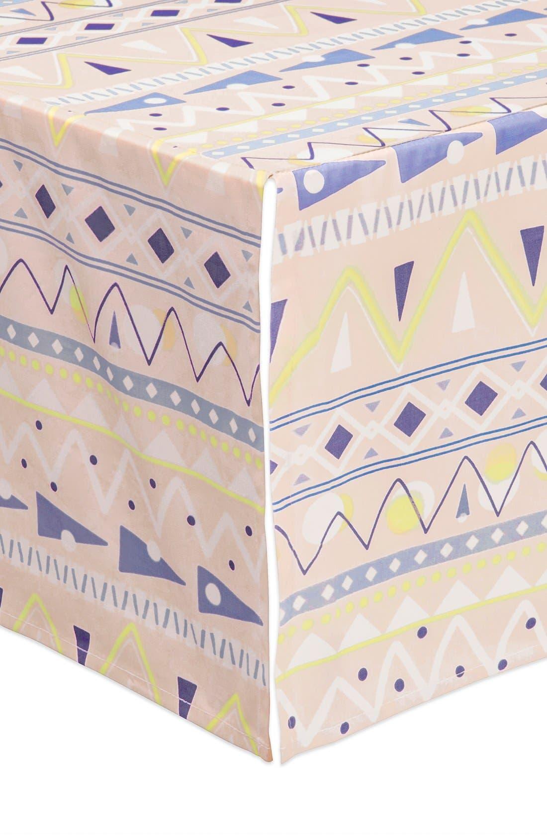 'Desert' Crib Sheet, Crib Skirt, Changing Pad Cover, Play Blanket, Stroller Blanket & Wall Decals,                             Alternate thumbnail 5, color,                             OFF WHITE