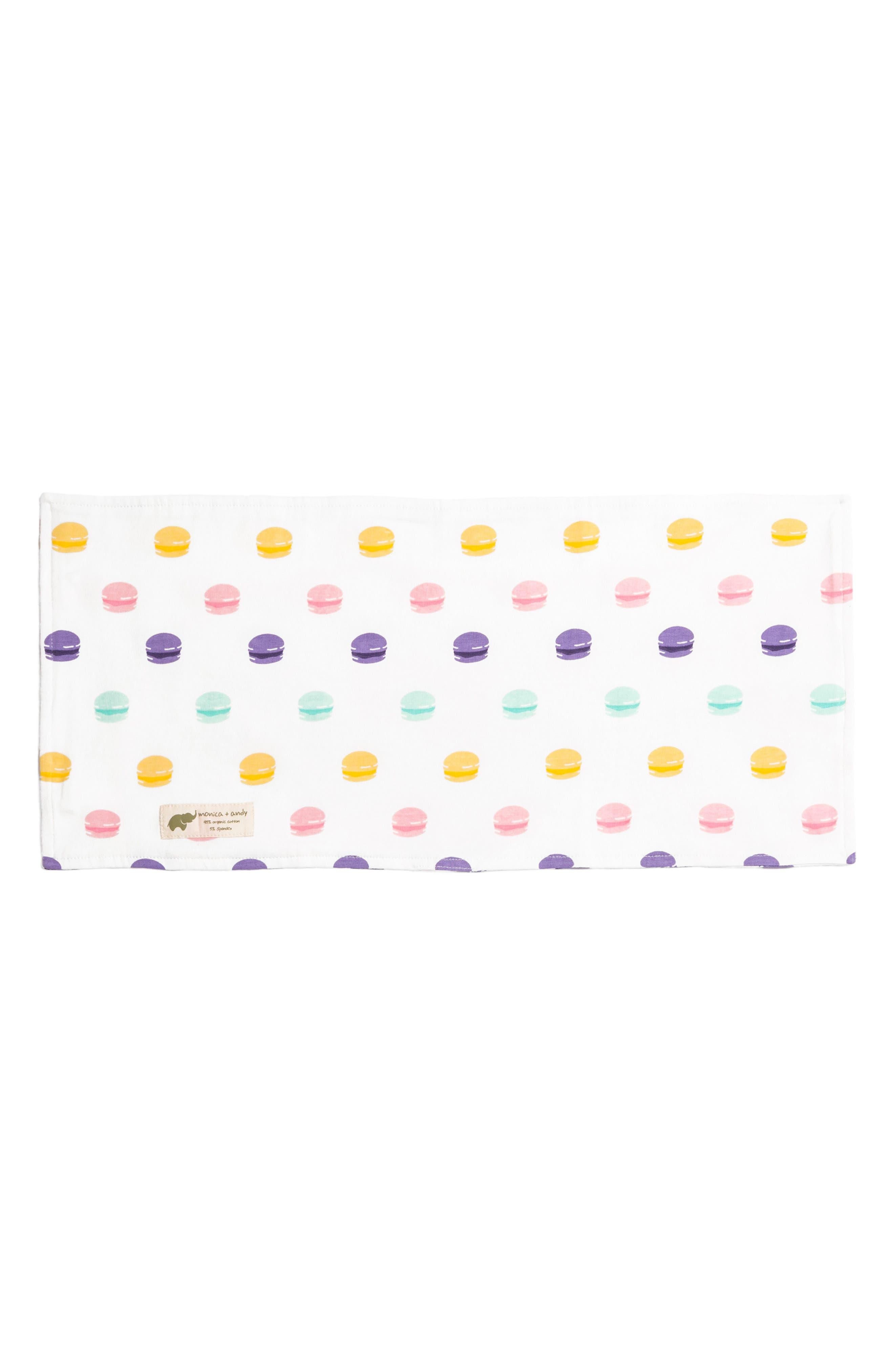Le Macaron Burp Cloth,                         Main,                         color, LE MACARON