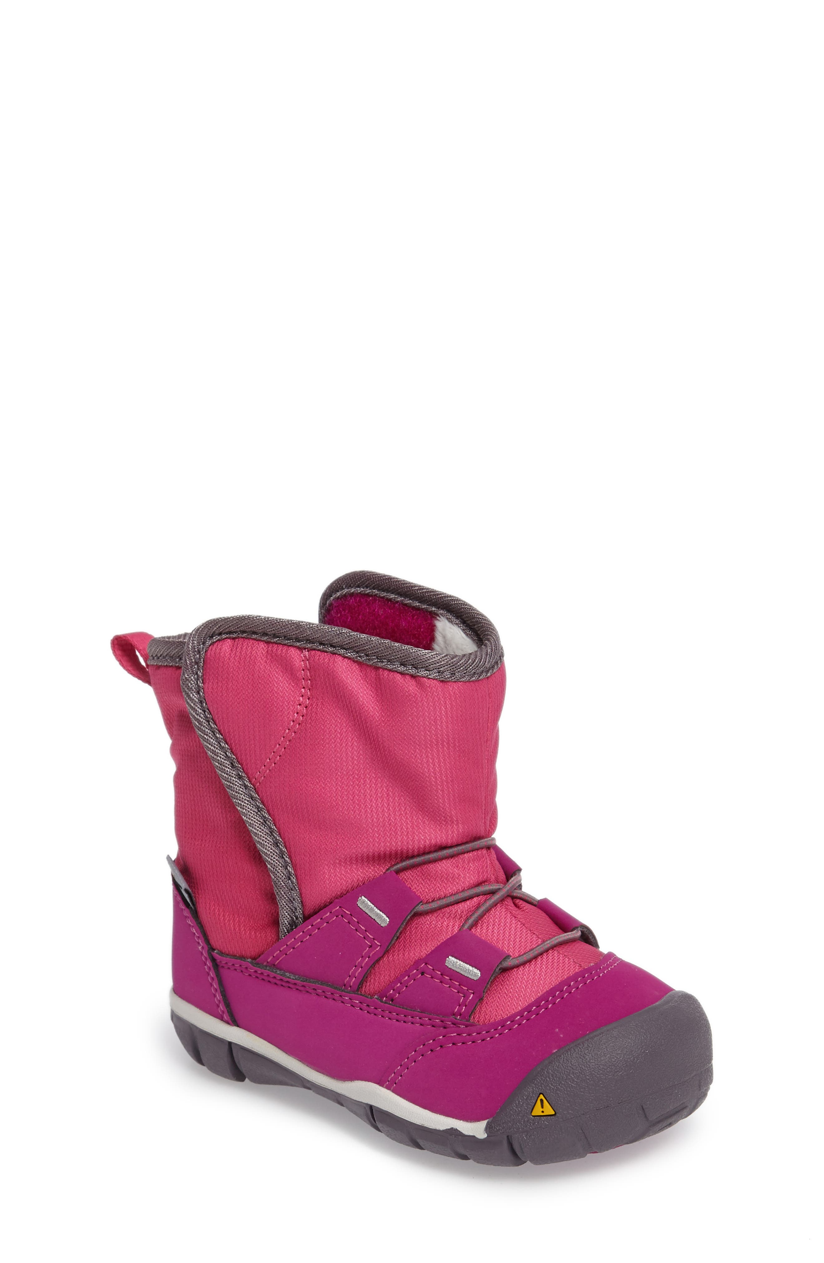 Peek-A-Boot Fleece Lined Boot,                             Alternate thumbnail 6, color,