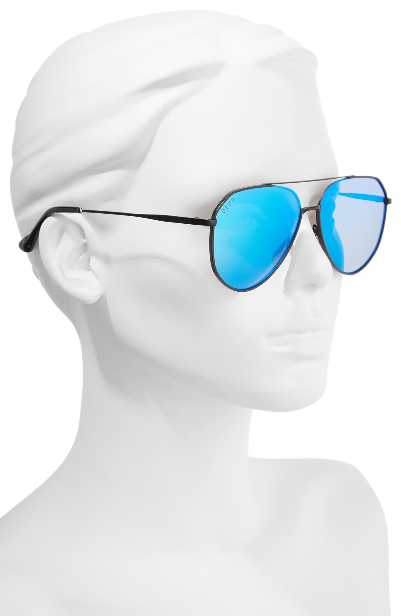 Dash 58mm Aviator Sunglasses,                             Alternate thumbnail 2, color,                             003