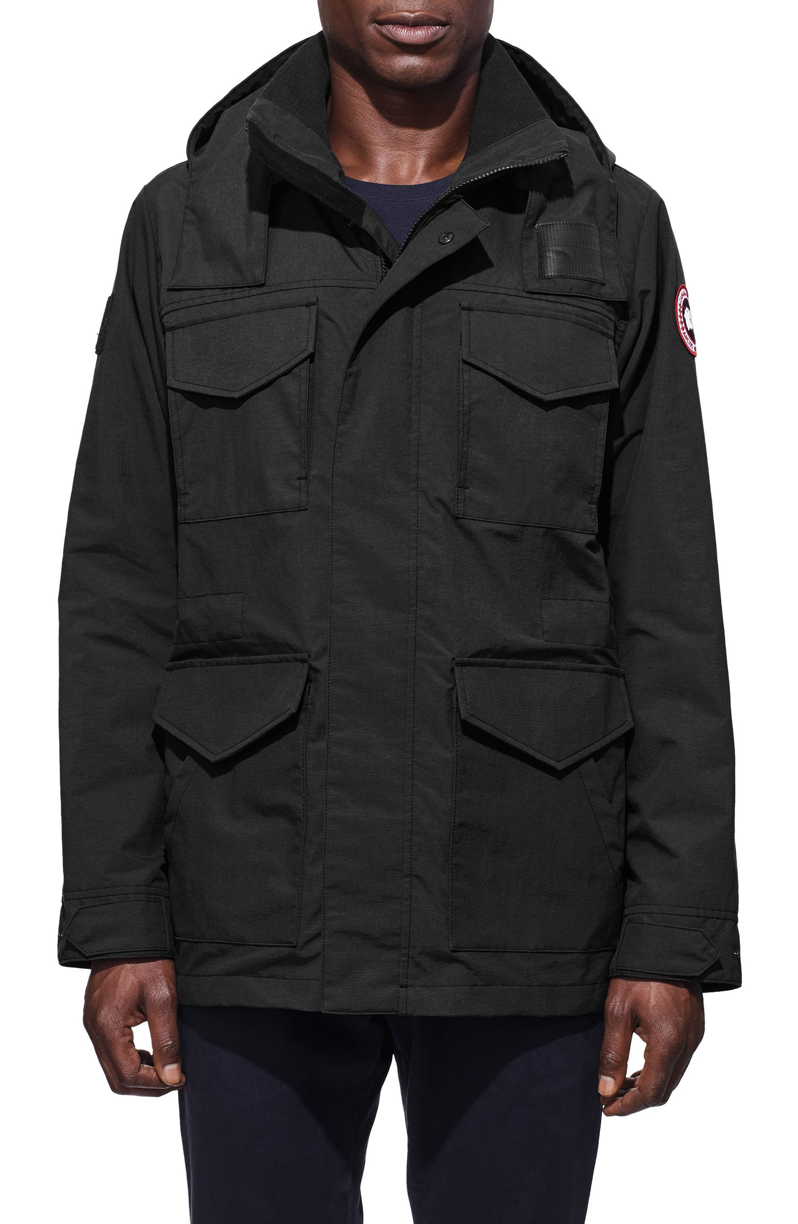 CANADA GOOSE,                             Voyager Jacket,                             Main thumbnail 1, color,                             001