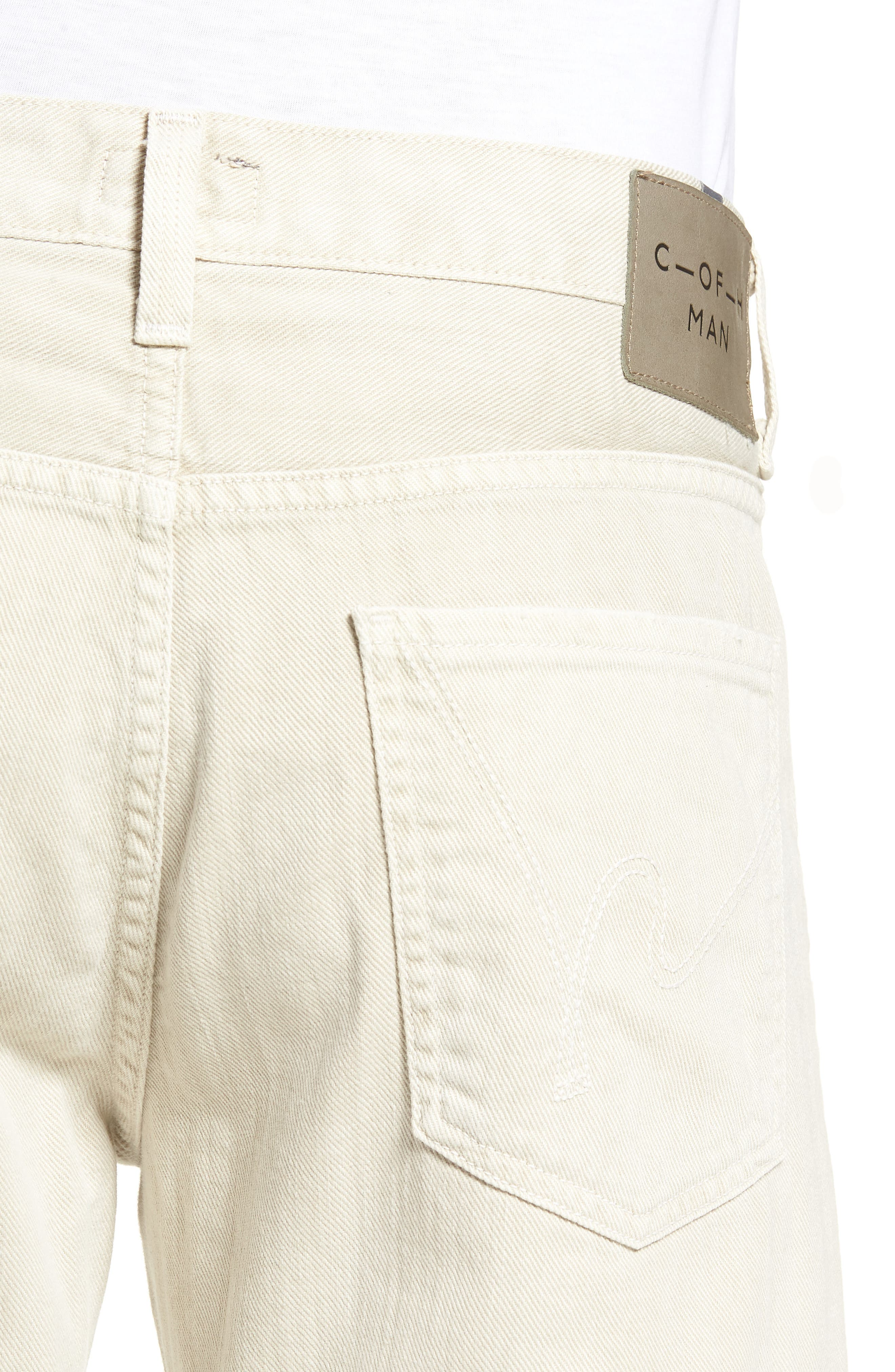 Sid Straight Fit Jeans,                             Alternate thumbnail 4, color,                             FORT