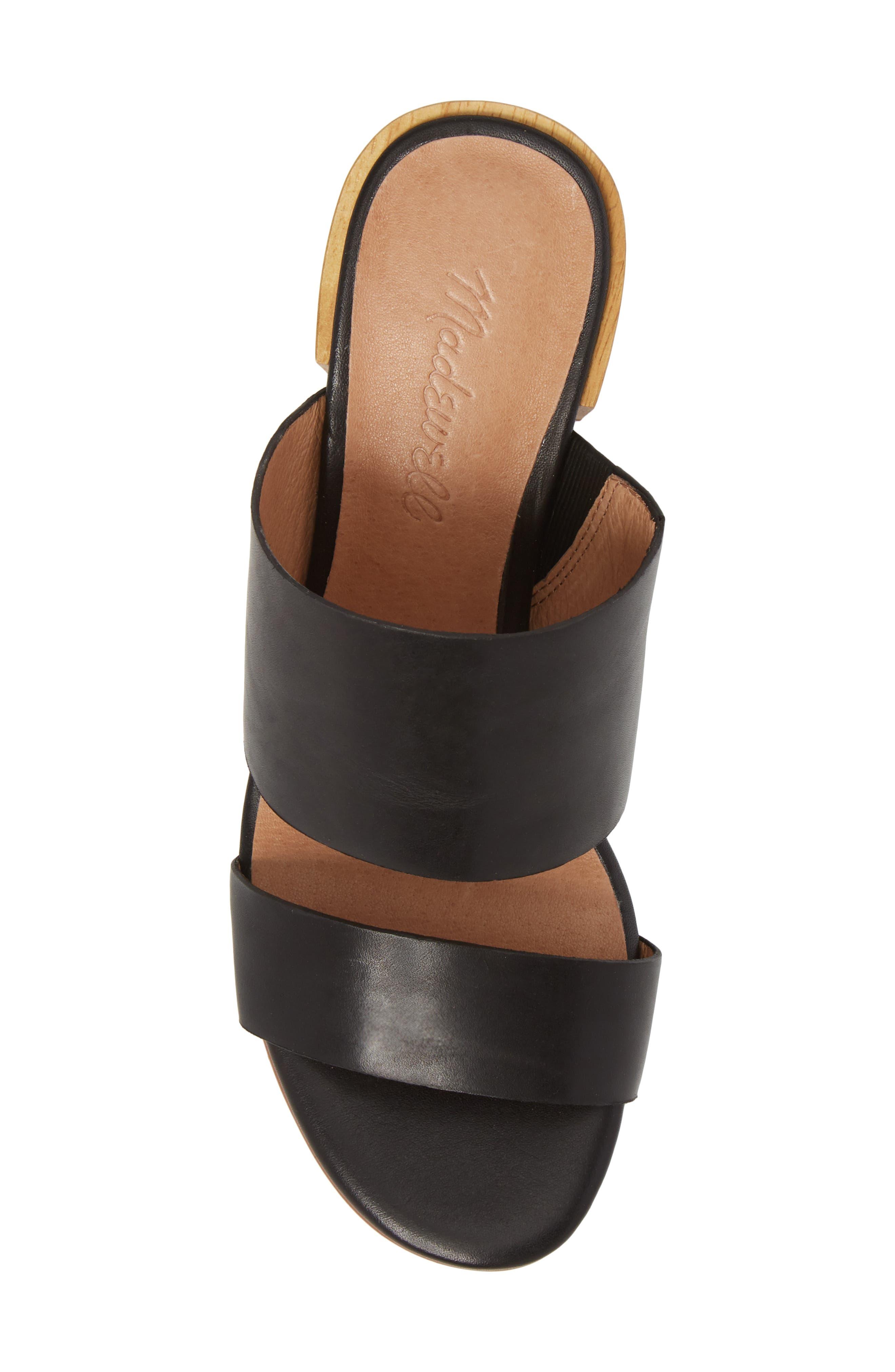 Kiera Block Heel Slide,                             Alternate thumbnail 9, color,
