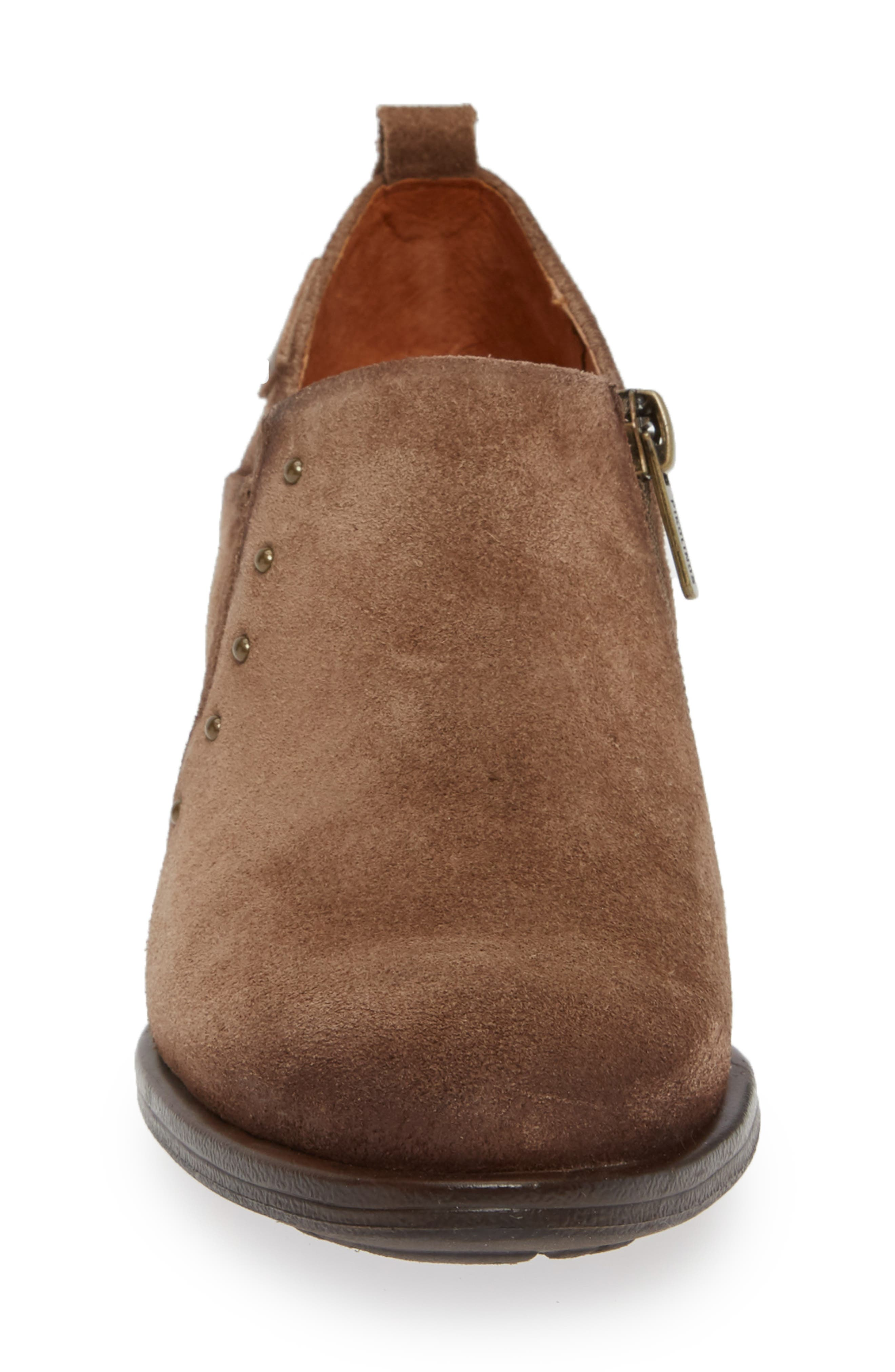 Baquiera Ankle Bootie,                             Alternate thumbnail 4, color,                             STONE SUEDE