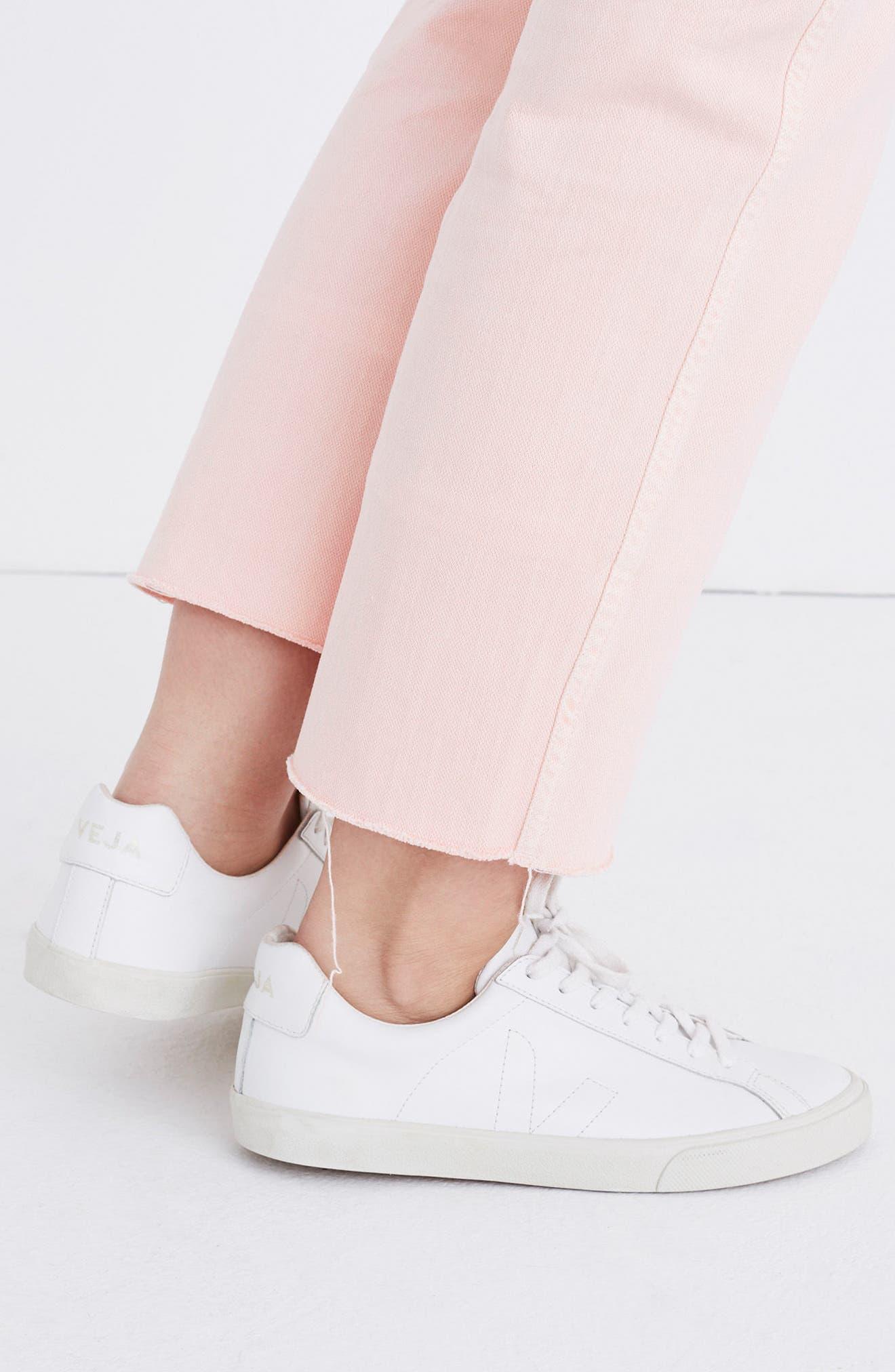 Garment Dyed High Waist Straight Leg Jeans,                             Alternate thumbnail 8, color,                             650