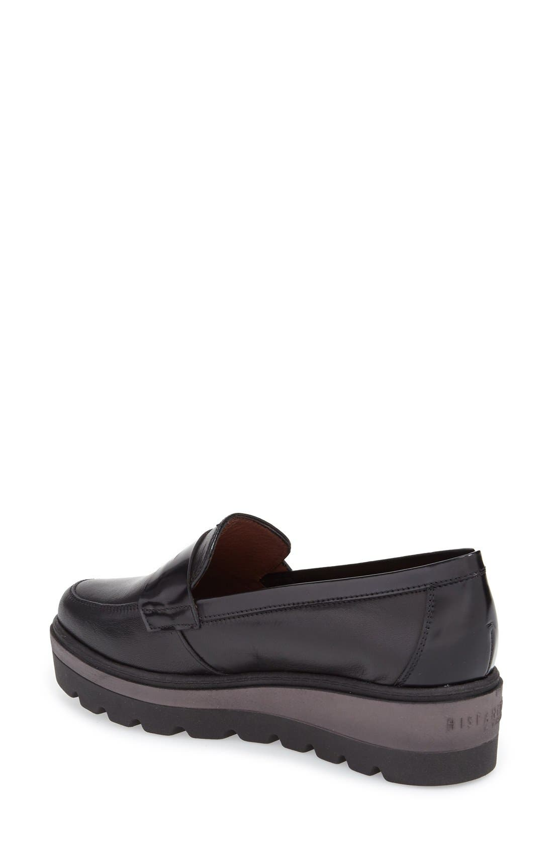 'Acacia' Wedge Loafer,                             Alternate thumbnail 2, color,                             001