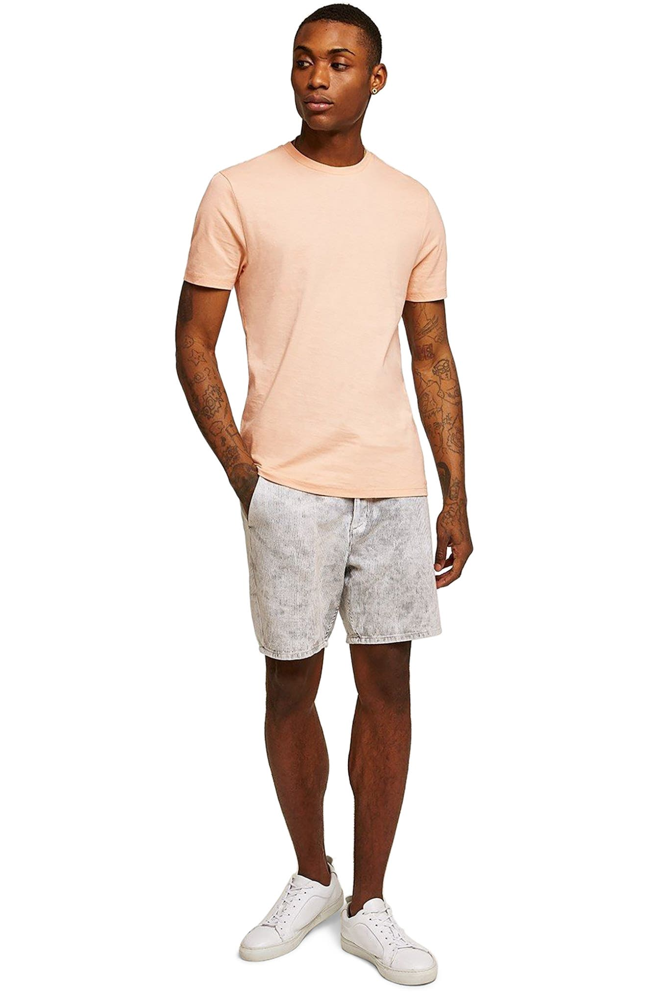 Slim Fit Crewneck T-Shirt,                             Alternate thumbnail 391, color,