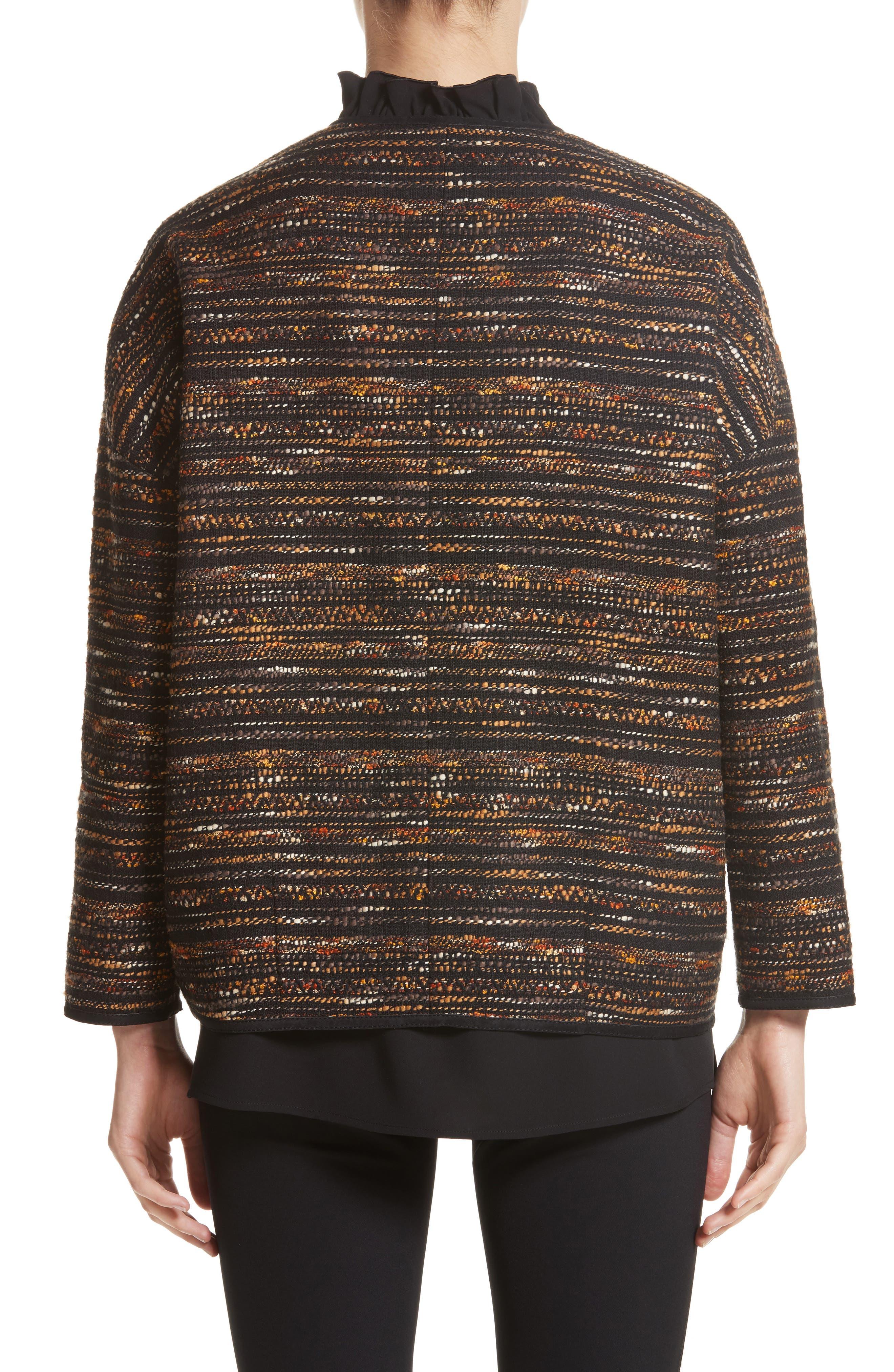 Alexa Tweed Jacket,                             Alternate thumbnail 2, color,