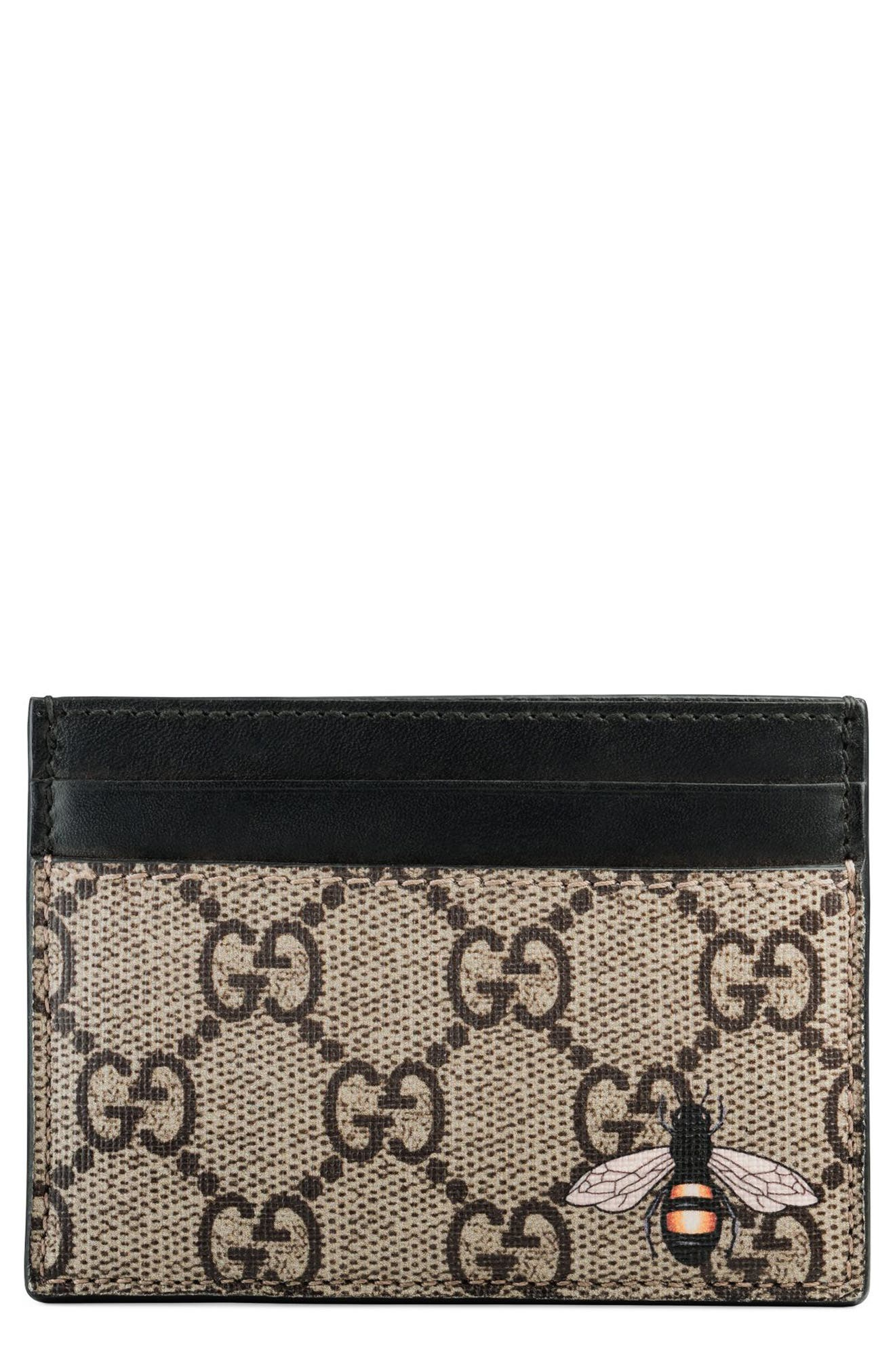 Bee Card Case,                         Main,                         color, 250