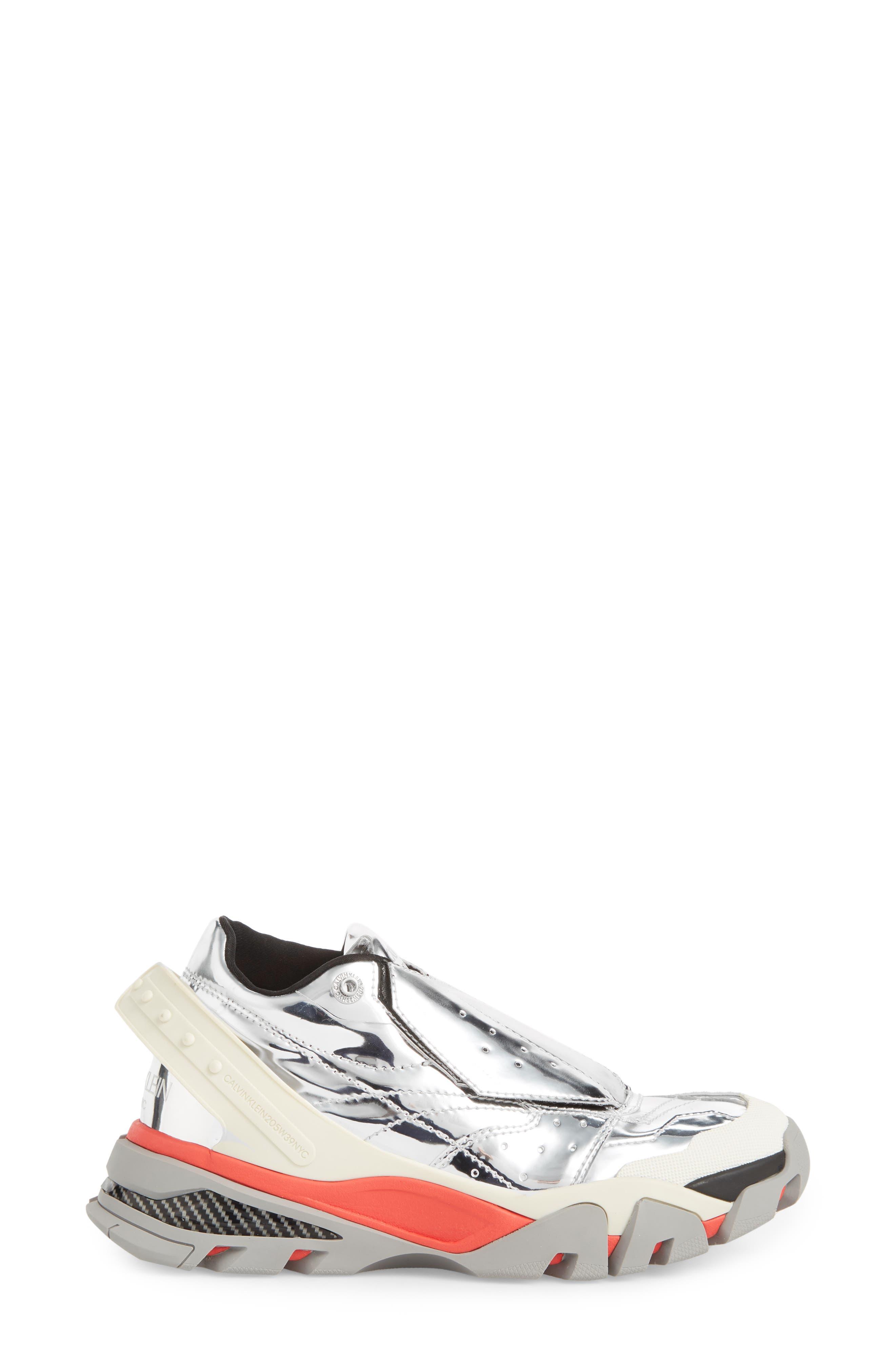 Carla Sneaker,                             Alternate thumbnail 3, color,                             SILVER