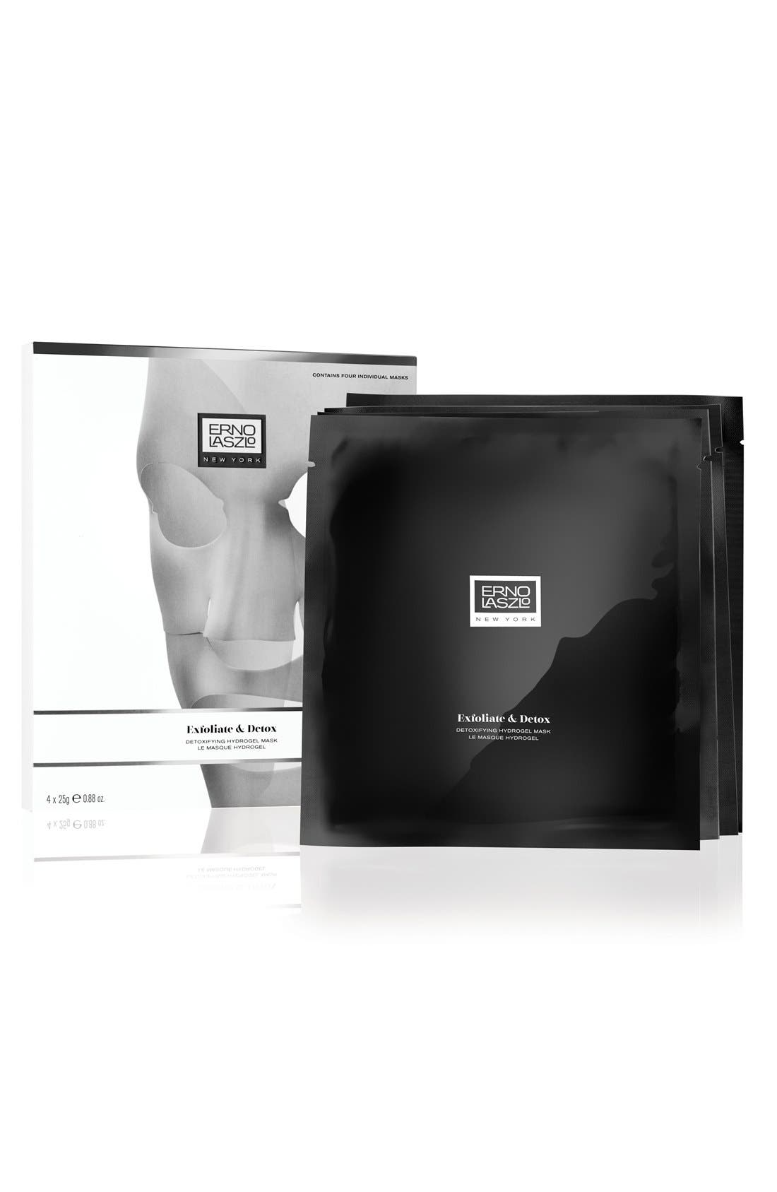 Detoxifying Hydrogel Mask,                         Main,                         color, NO COLOR