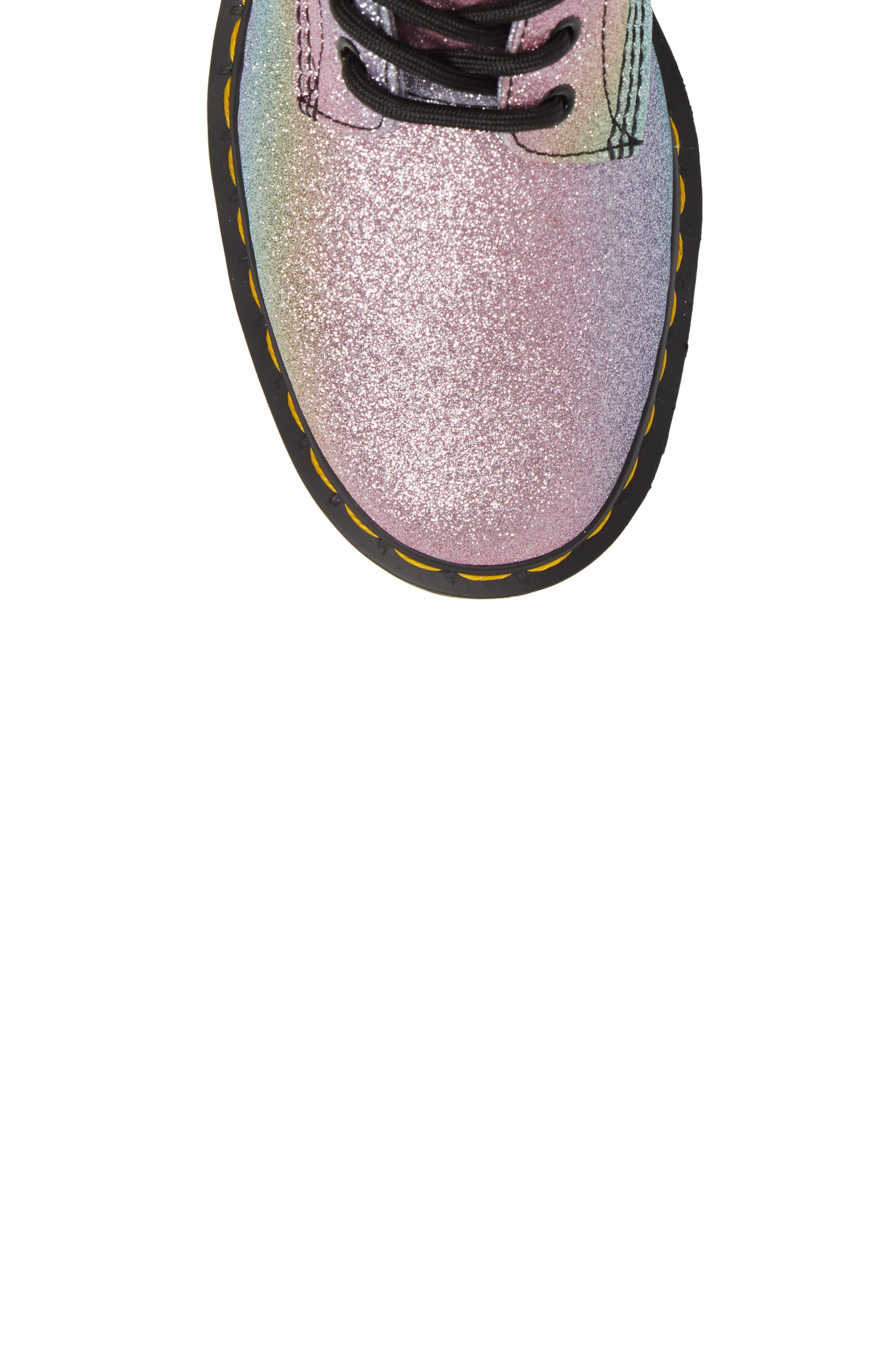 Pascal Glitter Boot,                             Alternate thumbnail 5, color,                             MULTI GLITTER