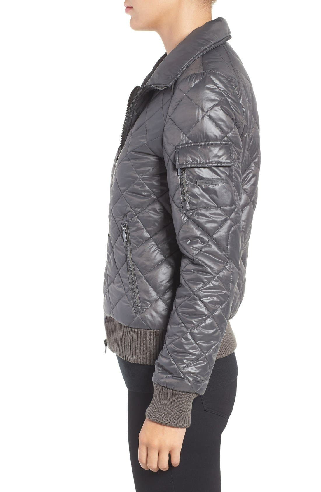 Quilted Bomber Jacket,                             Alternate thumbnail 23, color,