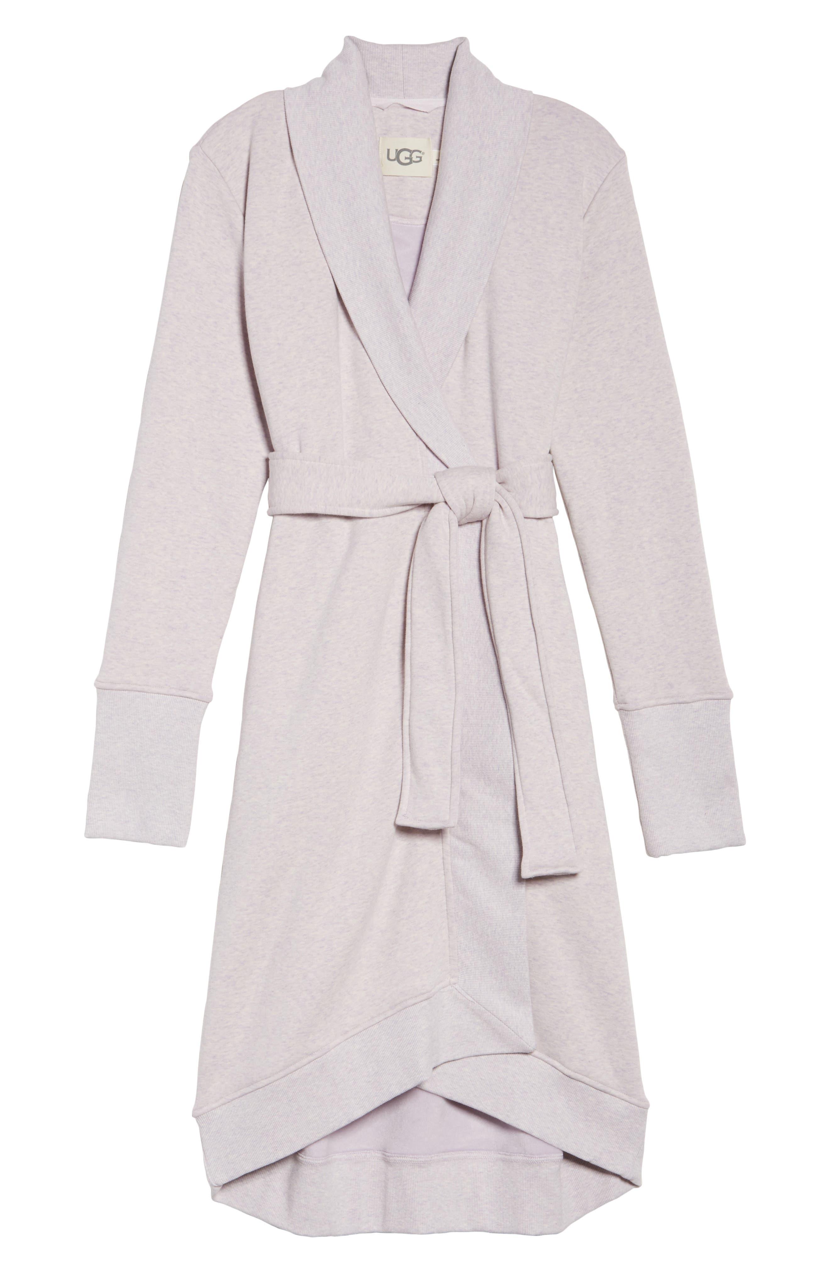 'Karoline' Fleece Robe,                             Alternate thumbnail 6, color,                             650